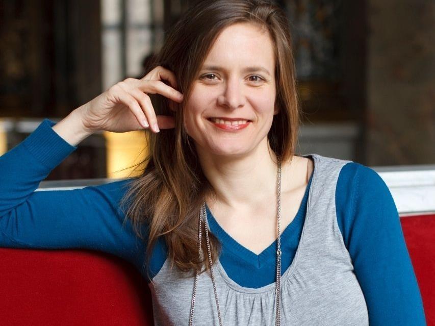 Buchautorin Eva Maria Bachinger