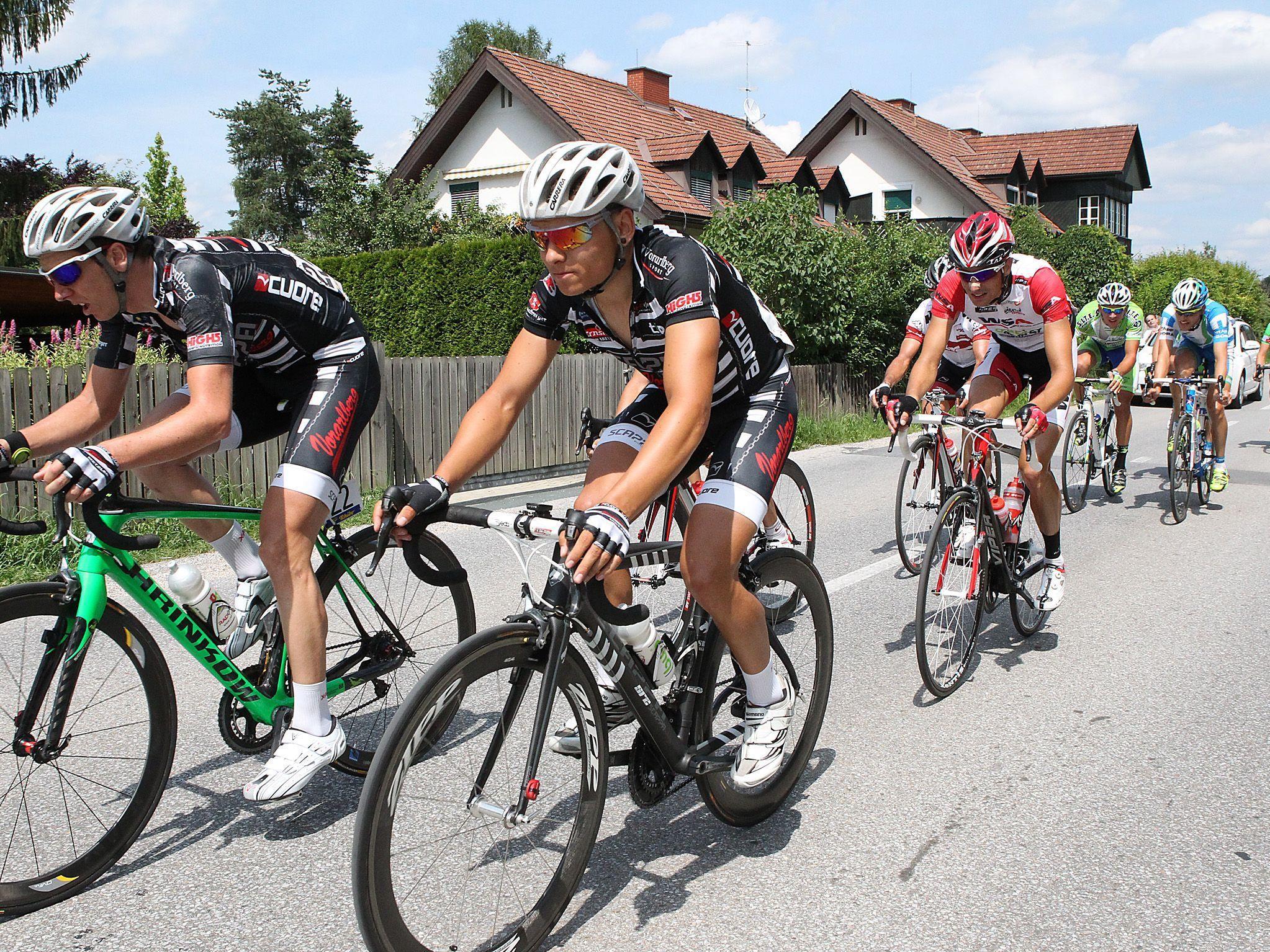 Die besten acht Fahrer schickt das Team Vorarlberg in die 64. Ö-Tour, welche am Sonntag beginnt.