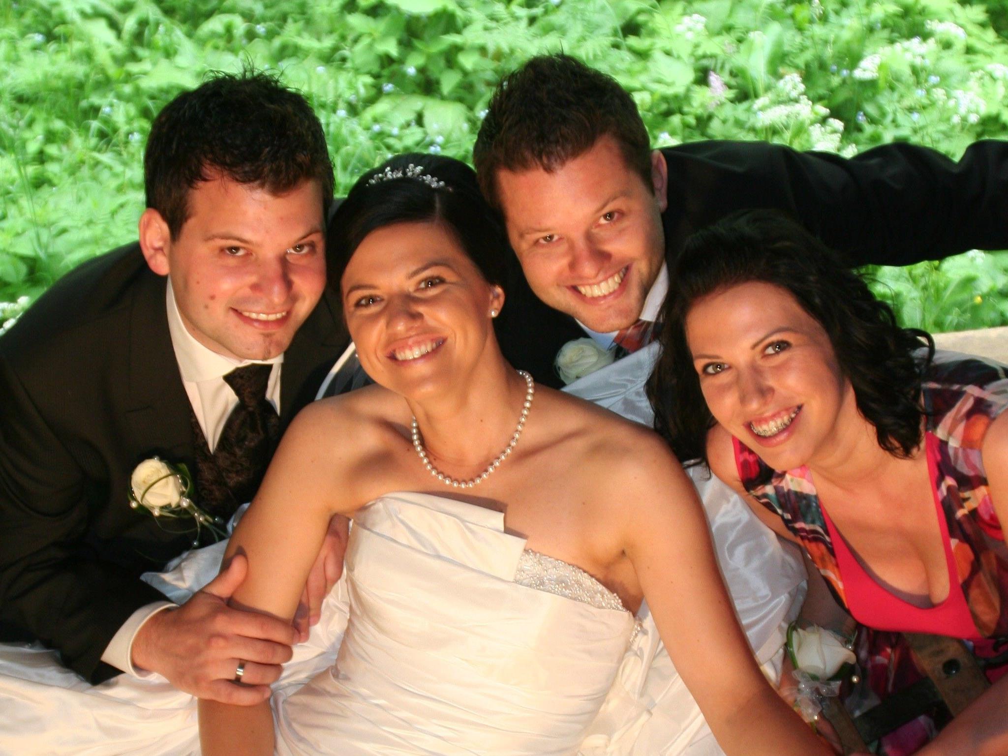 Katharina Rippl und Thomas Berthold feierten am 22.6. ihre Vermählug.