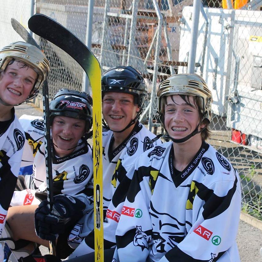 Inline-Hockey vom Feinsten gab es beim Event am Samstag in Dornbirn zu sehen.