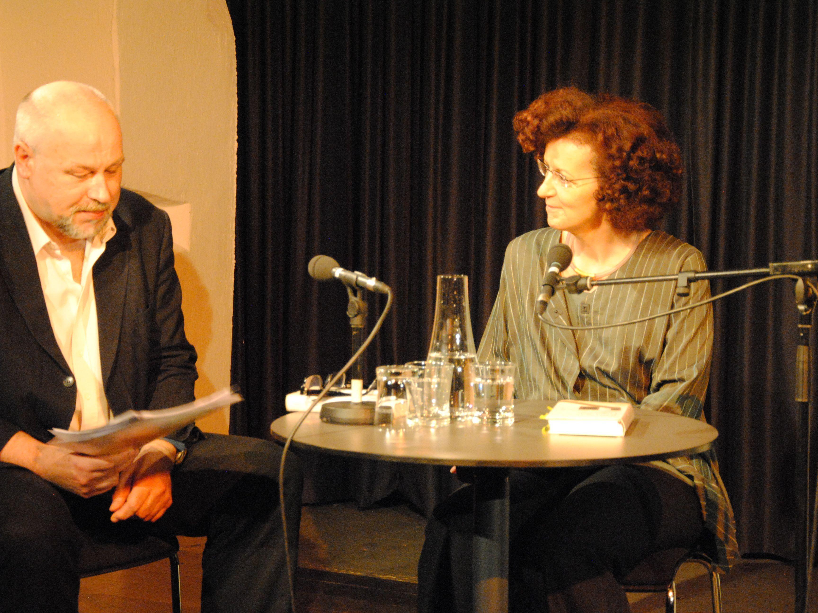 Maja Haderlap im Gespräch mit Burkhard Wüstner.