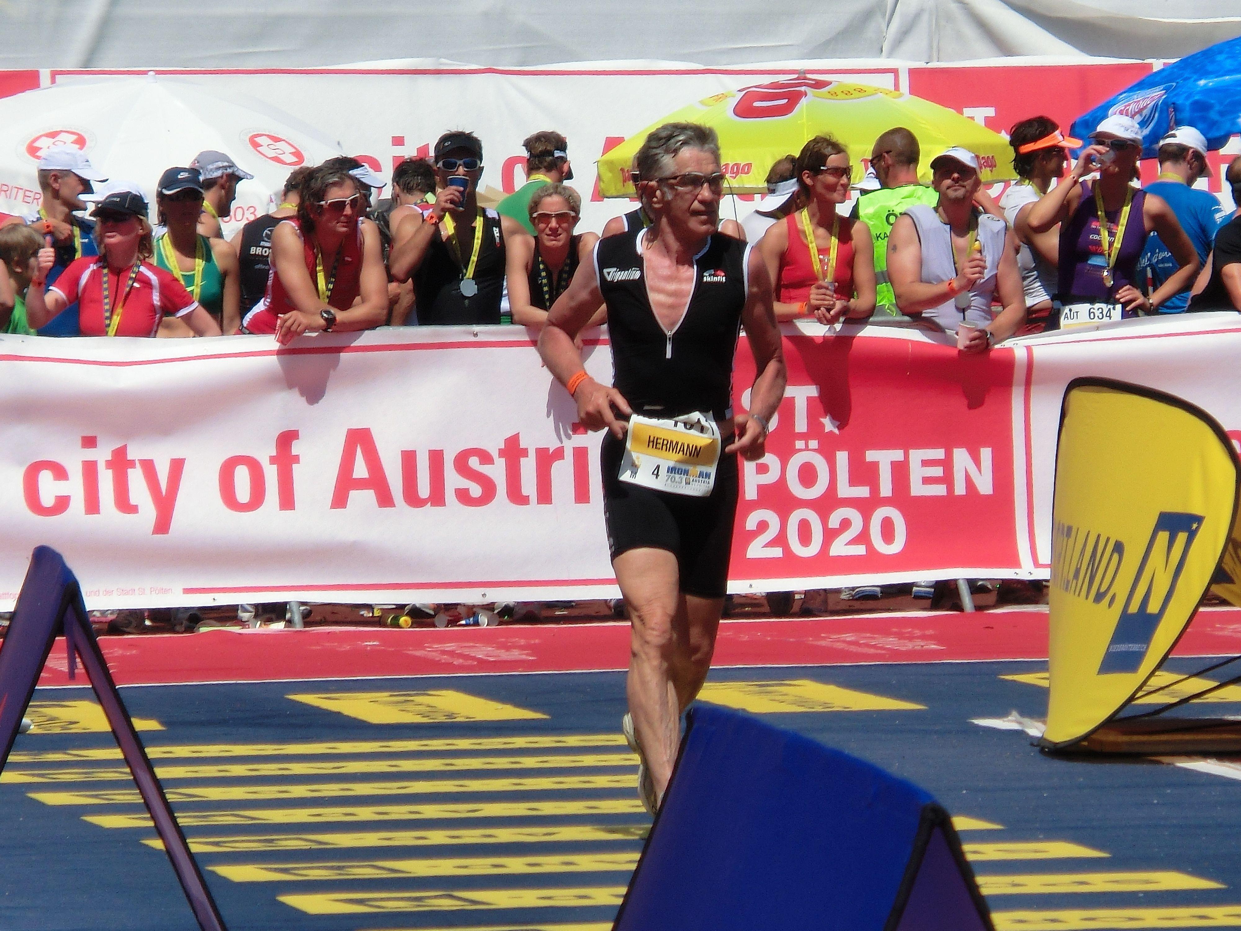 Hermann Hartsleben gewann die Altersklasse M70