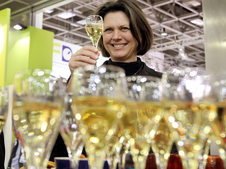 Ein paar Gläschen des Champagners dürften wohl noch genießbar sein.