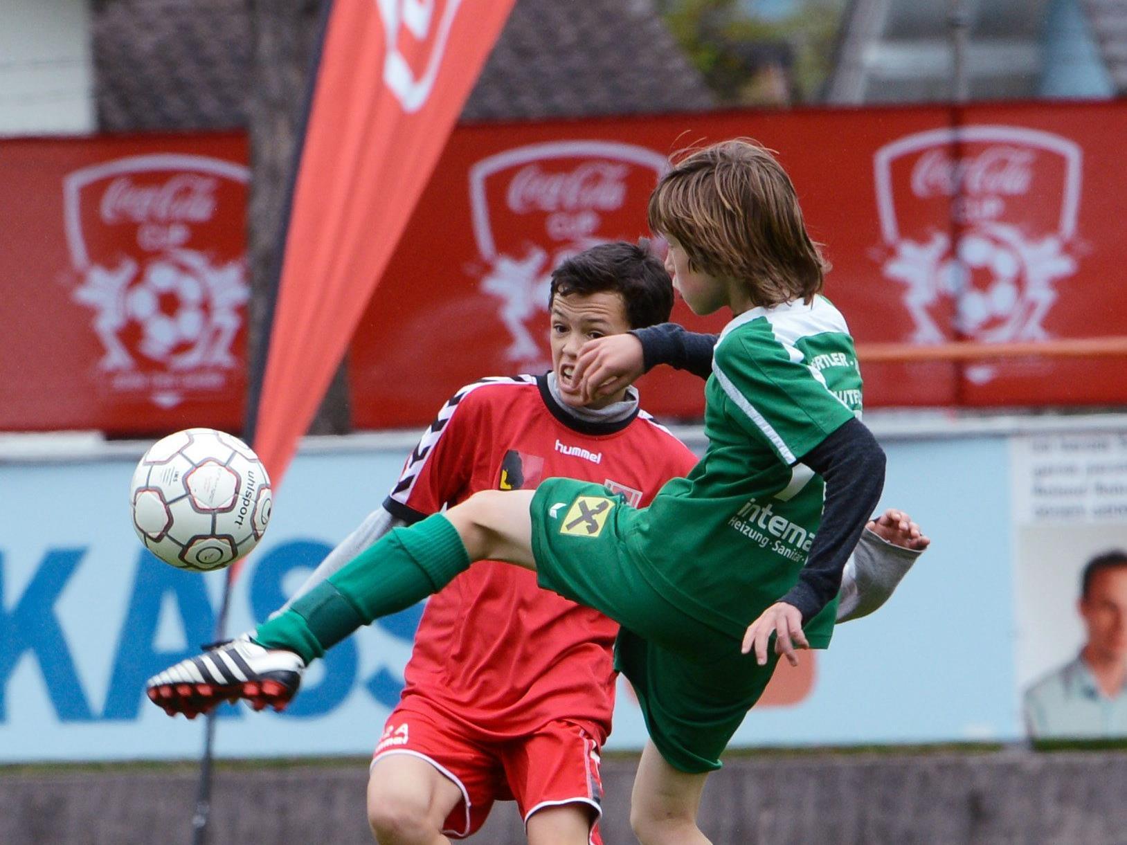 FC Lauterach spielt beim Coca Cola Cup in Kärnten mit und vertritt die Ländle Farben.