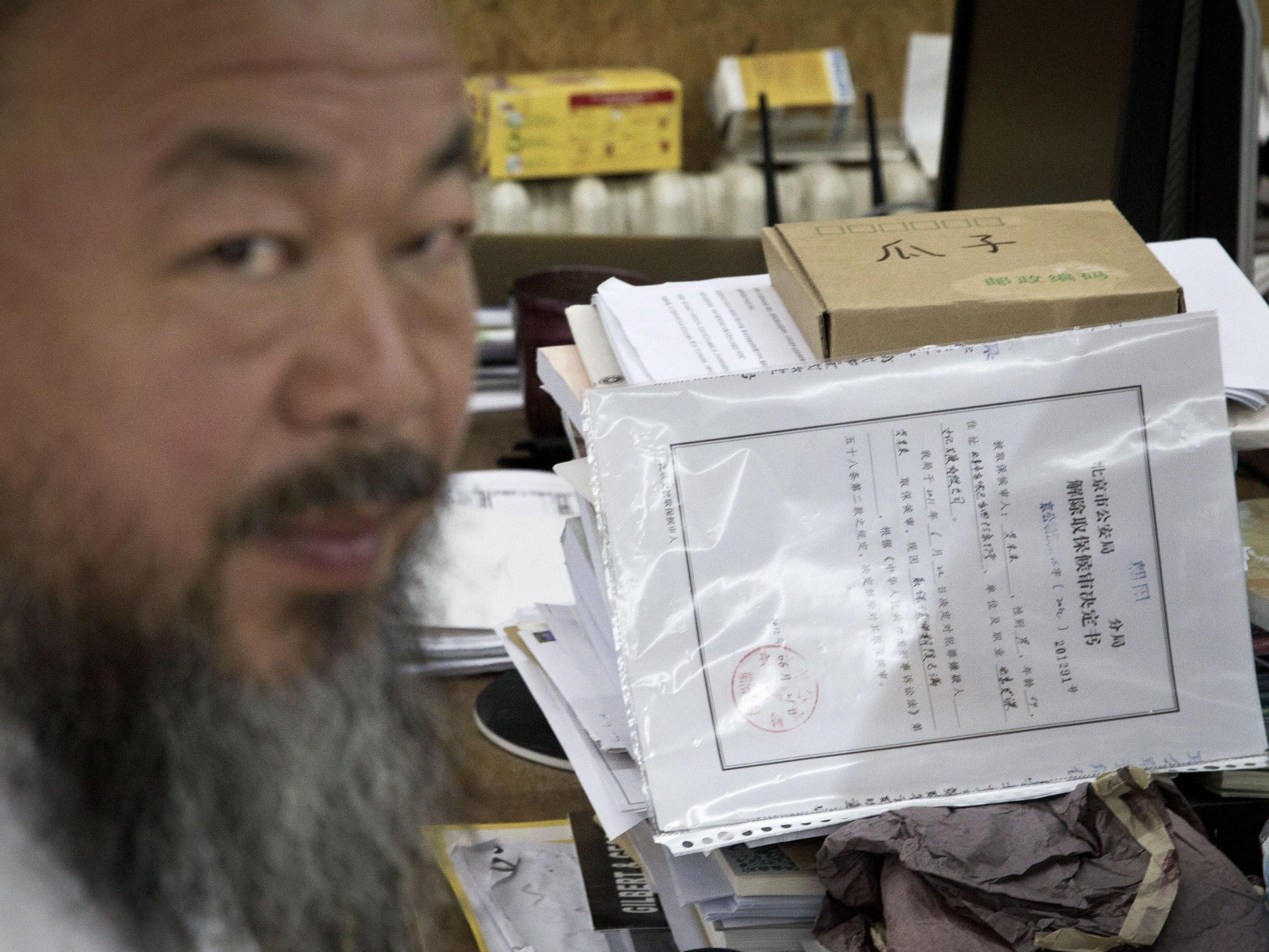 """Künstler Ai Weiwei: """"Es könnten mehr als 10 Jahre sein."""""""