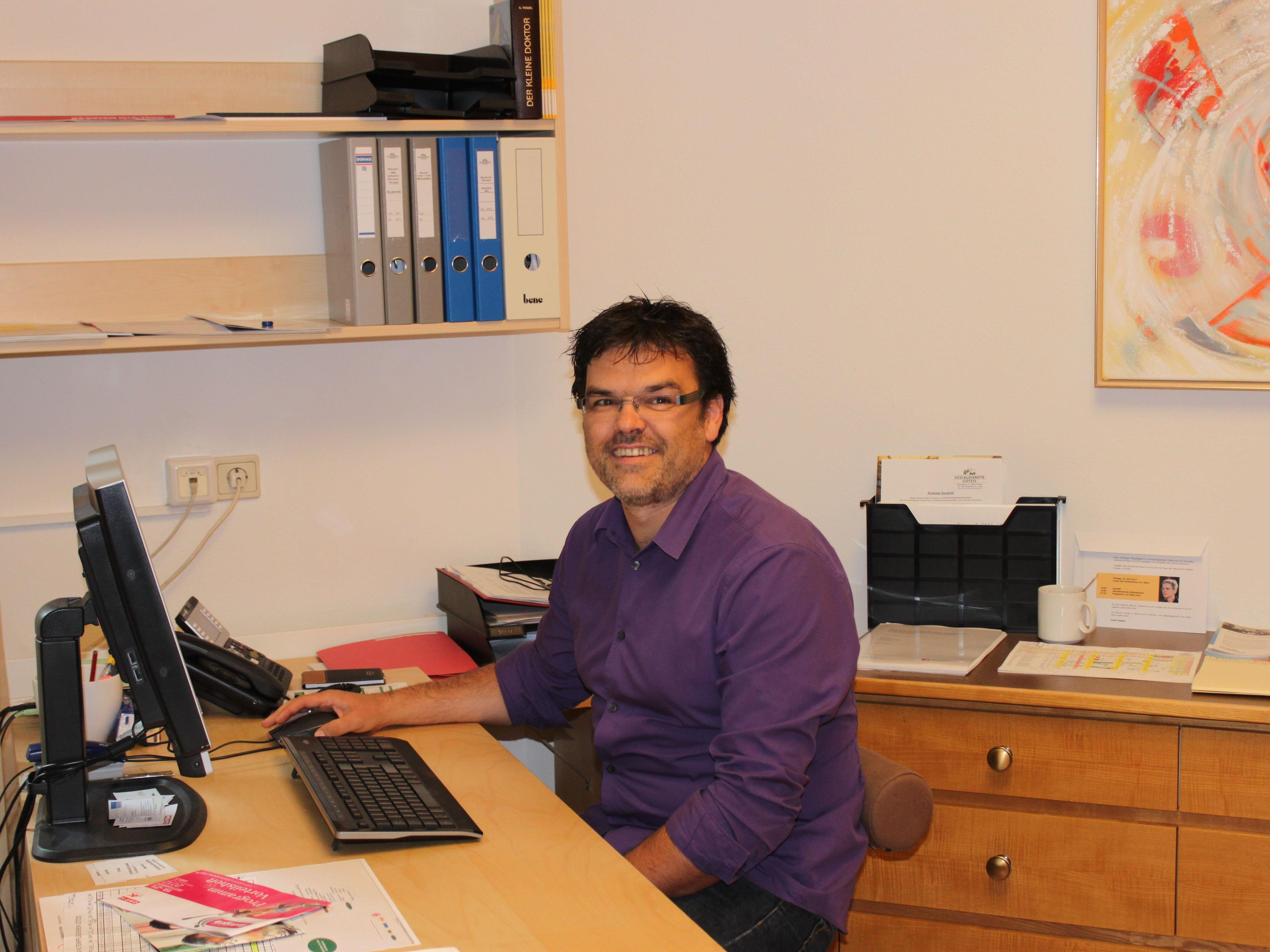 Achim Steinhauser ist der neue Leiter der Stelle für Pflegeberatung und Koordination