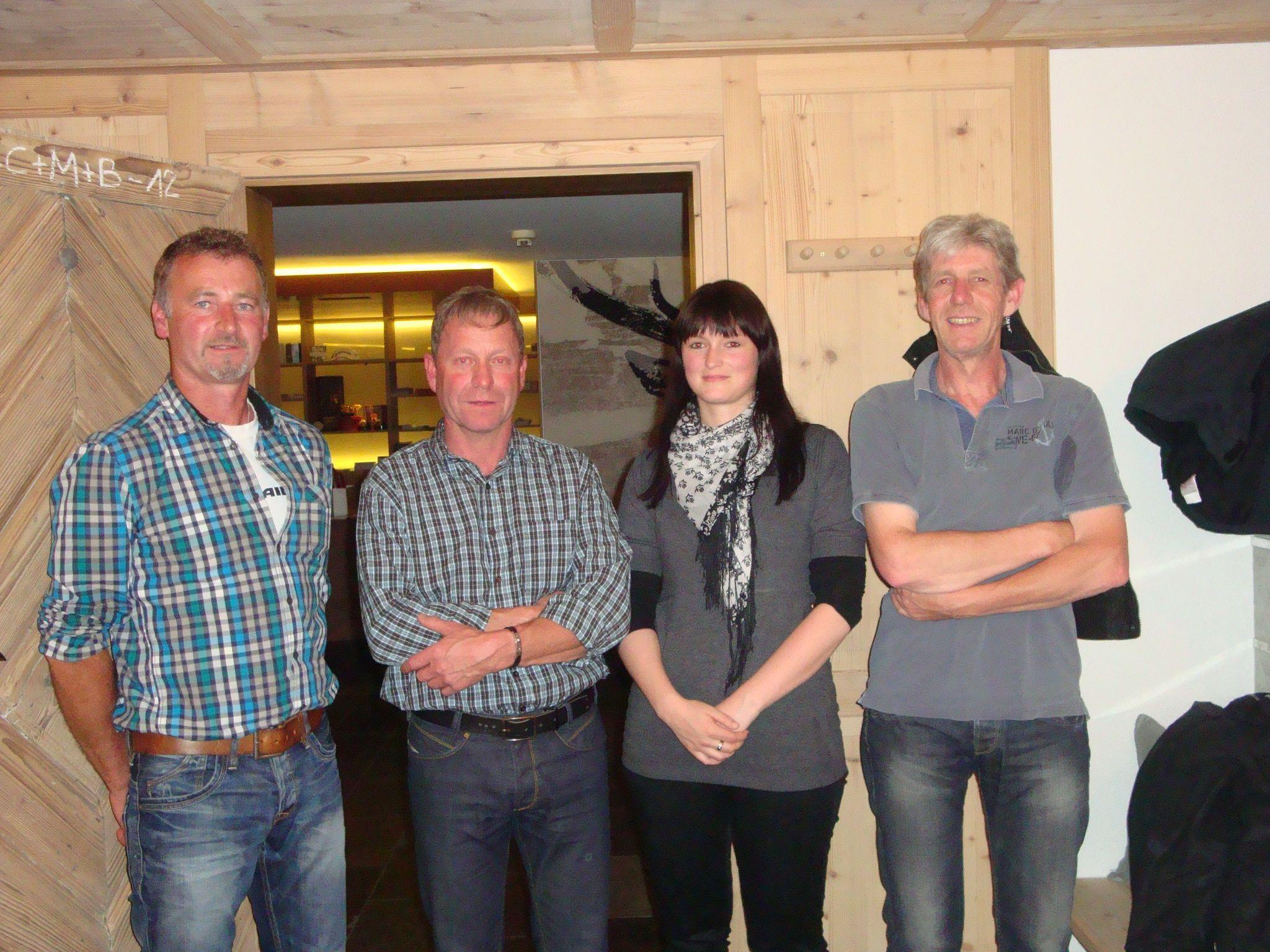 Vorstandsmitglieder des WSV Au