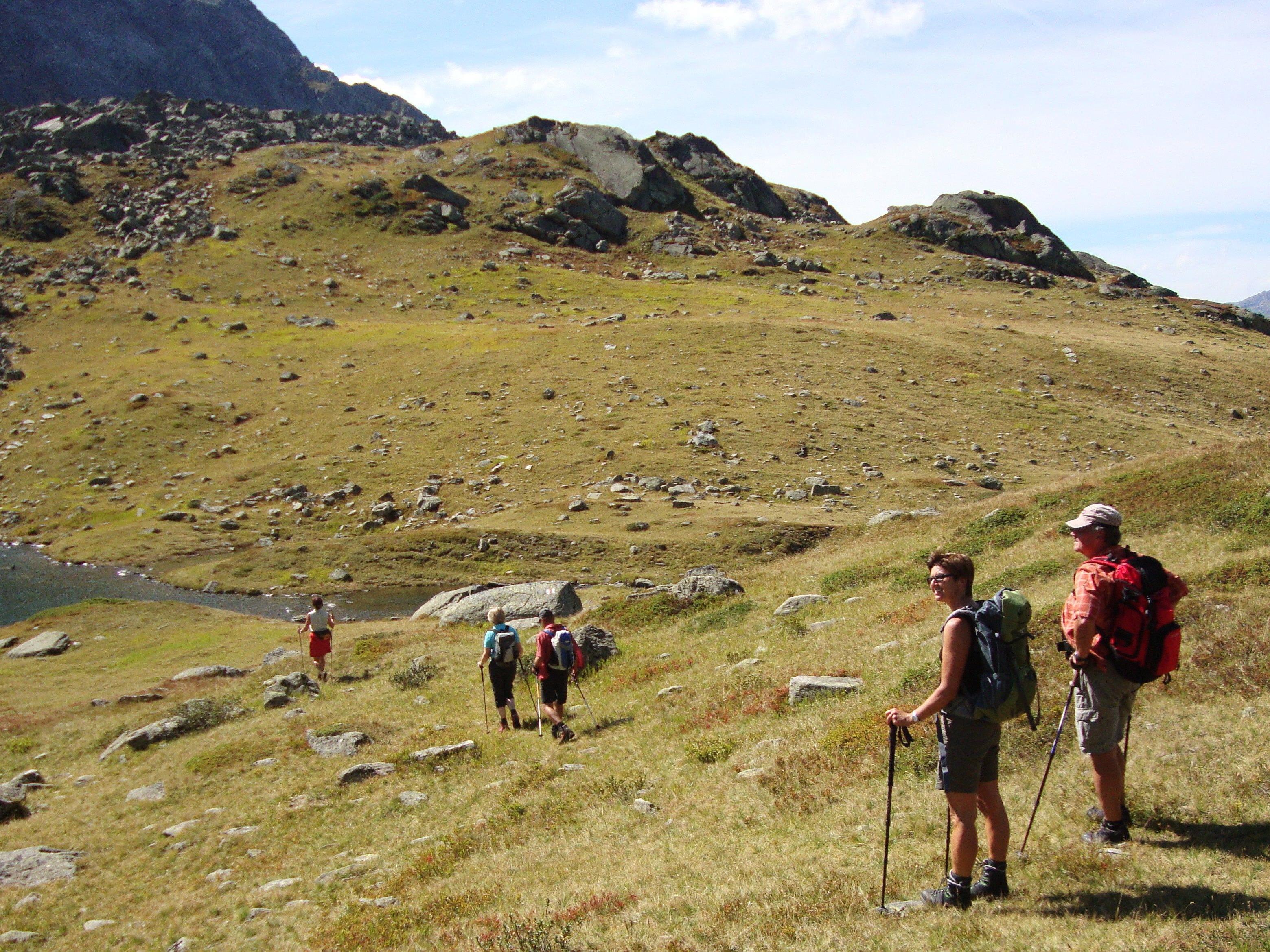 Am Sonntag ist Wandertag für Jung und Alt aus.