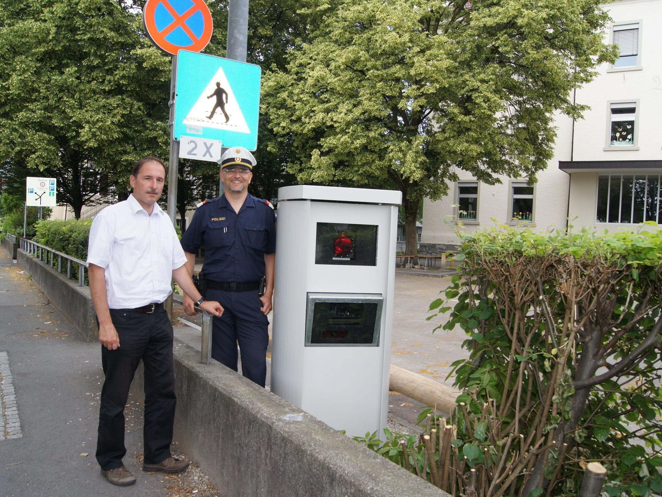 Durch Geschwindigkeitsüberwachung im gesamten Ortsgebiet soll die Verkehrssicherheit erhöht werden.