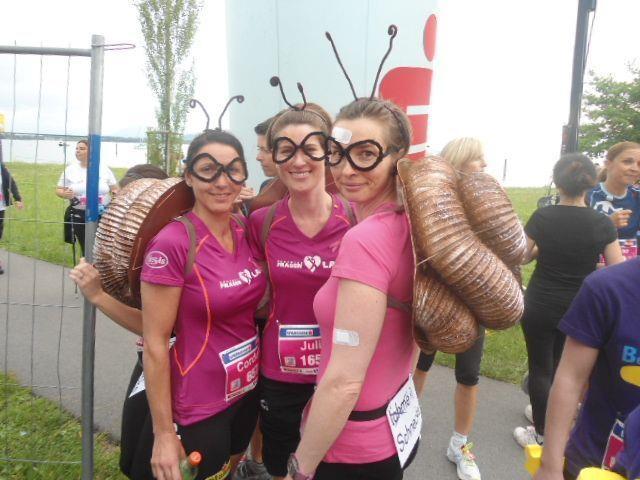 Tolle Läuferinnen bei einem tollen Event