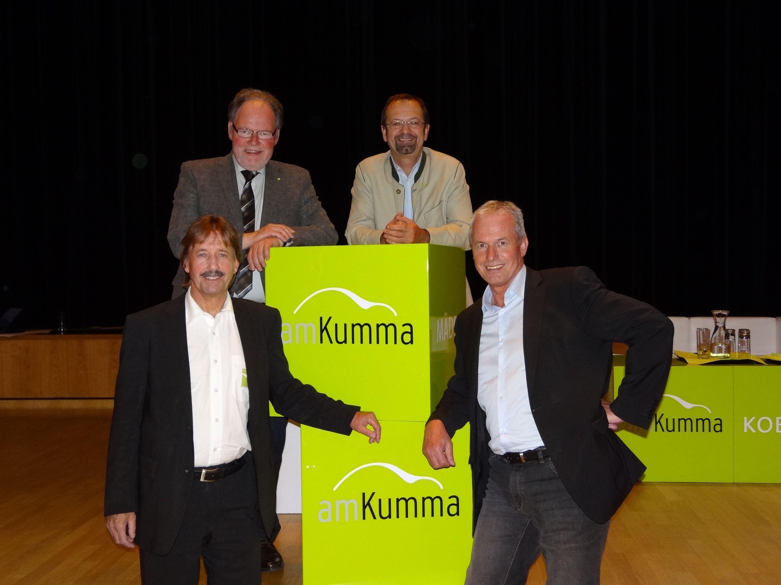 Die Vielfalt der Unternehmen und die Dynamik der Wirtschaftsregion war Thema der ersten Wirtschaftsrunde amKumma