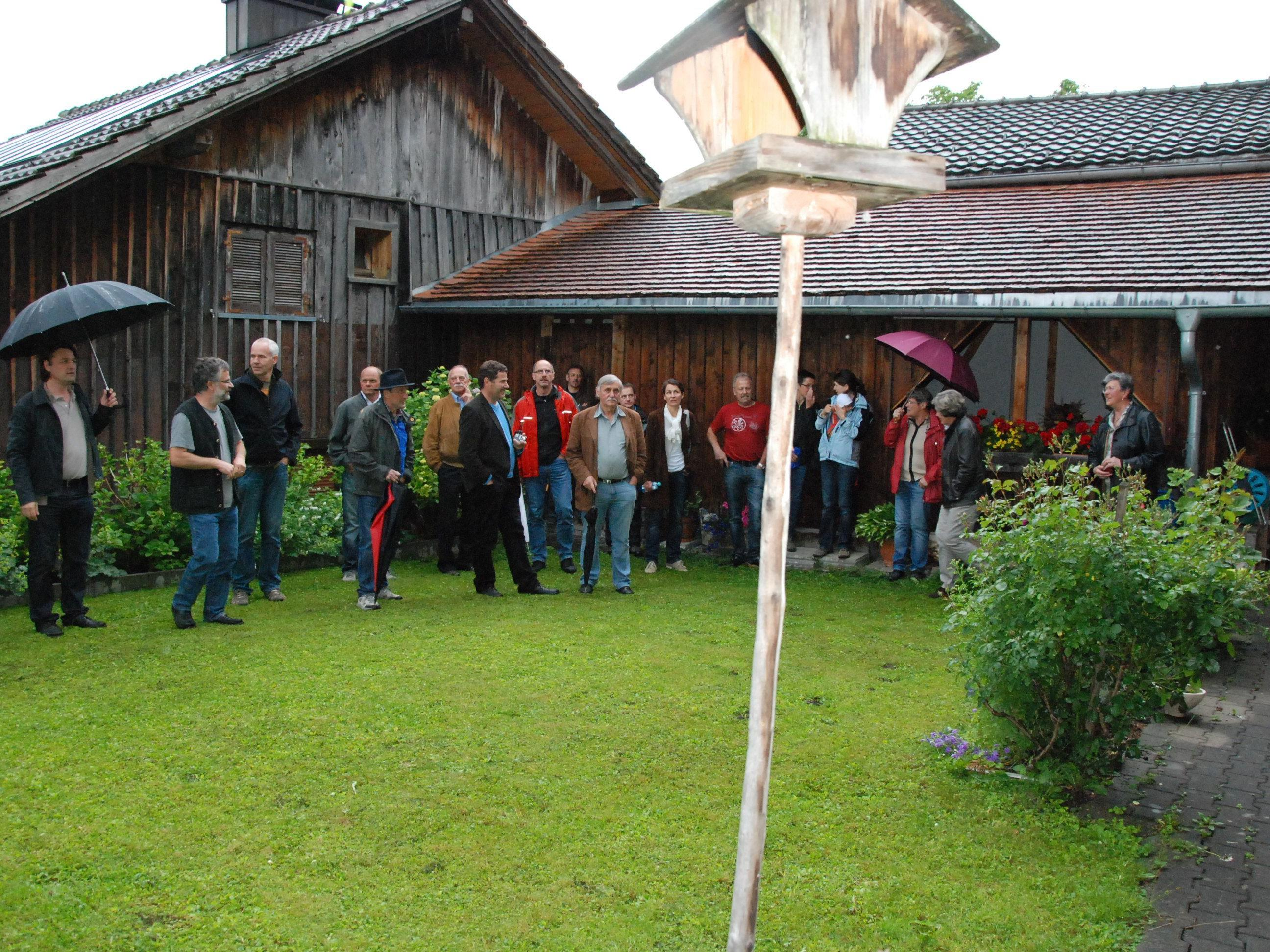 Historische Bausubstanzen in Düns und Schnifis wurden unter die Lupe genommen.