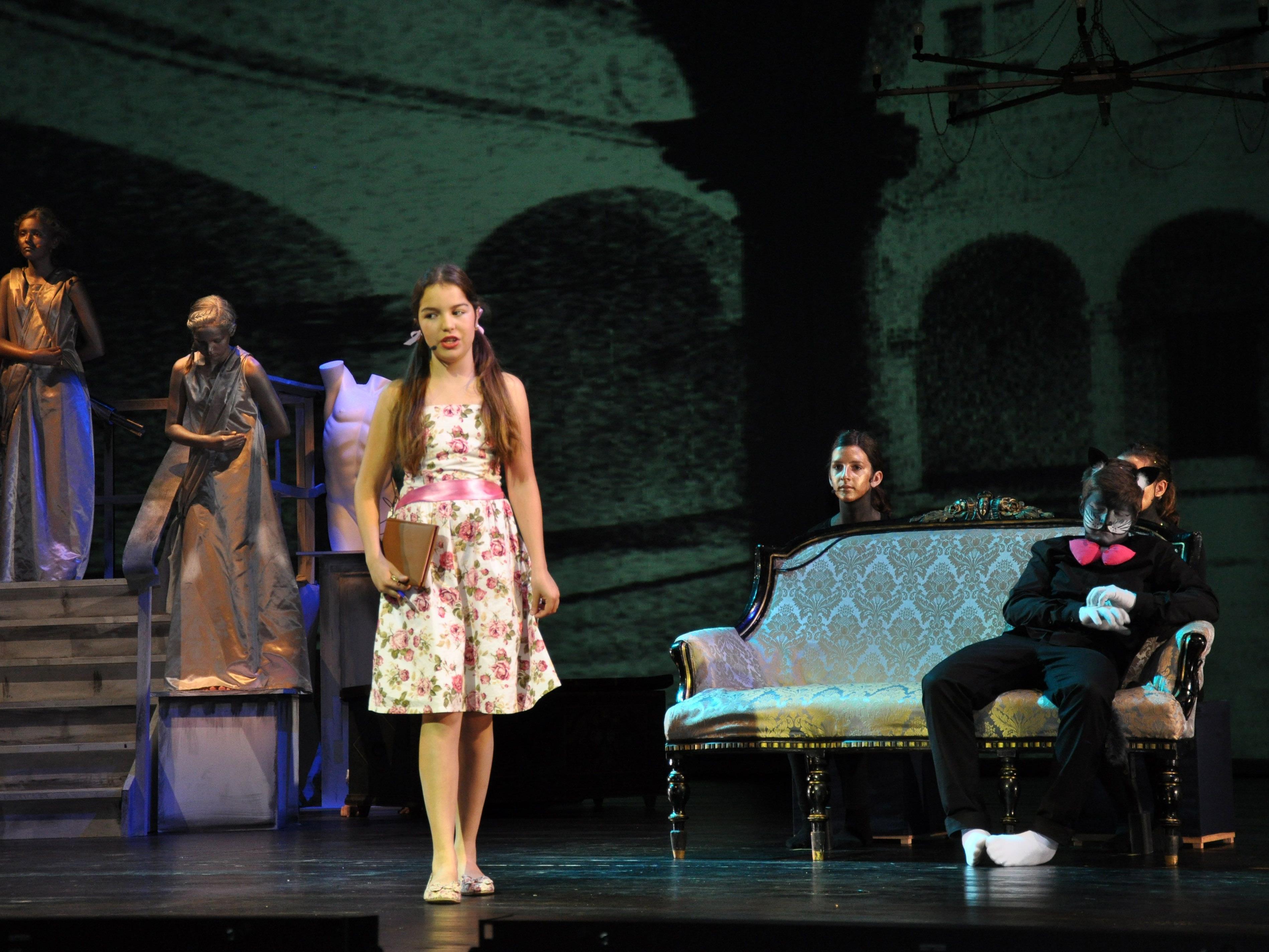 """""""La piccola banda"""" handelt von dem Mädchen Felicia und ihren Ausflügen ins Reich der Phantasie."""