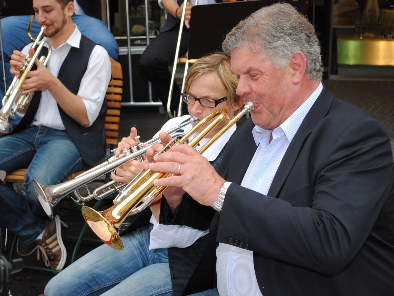 Sogar der Bürgermeister demonstrierte seine musikalischen Fähigkeiten