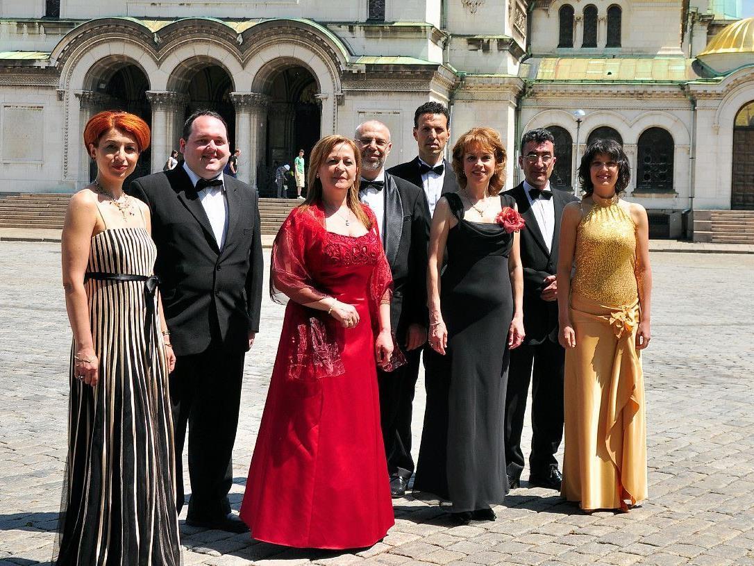 Das Solistenensemble Madrigal Sofia gastiert in Vorarlberg
