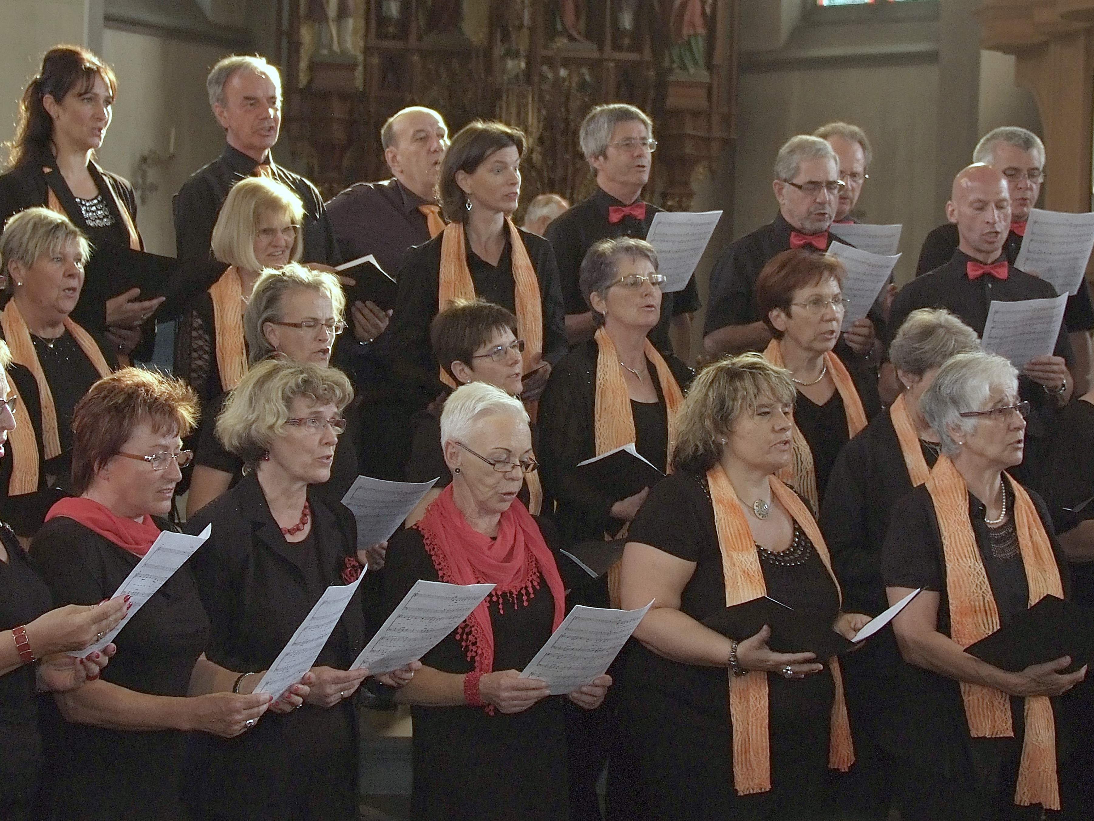 Gemeinsames Gotteslob des Männer und Frauenchor Frastanz und der Ludescher  UGL.