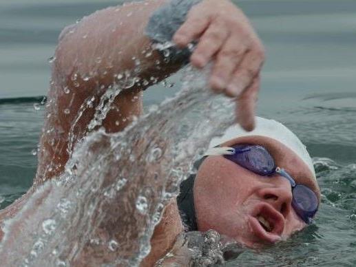 "Extremschwimmer ""Orca"" Dobelmann lässt nicht locker."