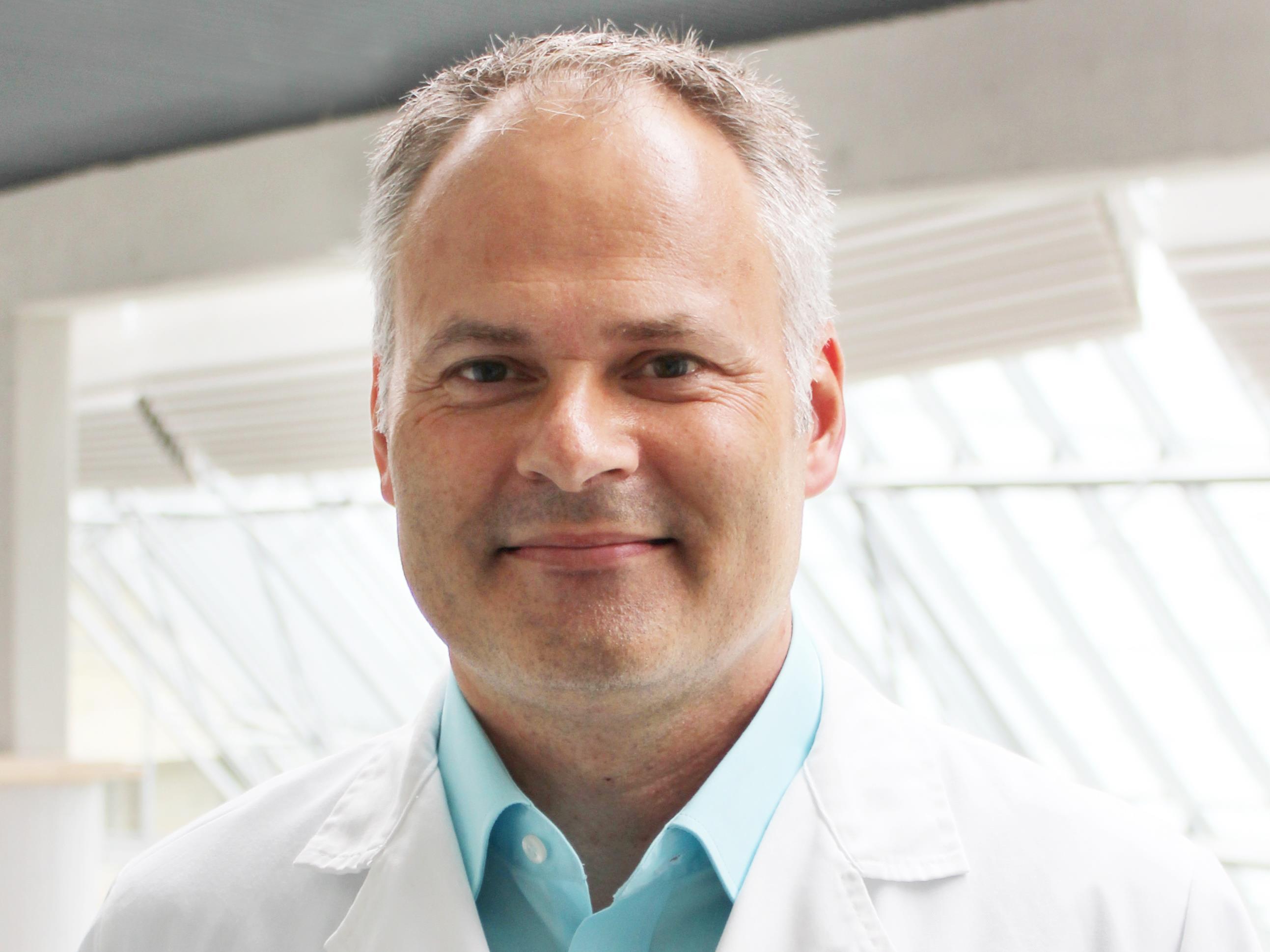 Dr. Reinhard Folie, der neue Primar für Anästhesie und Intensivmedizin am LKH Bregenz