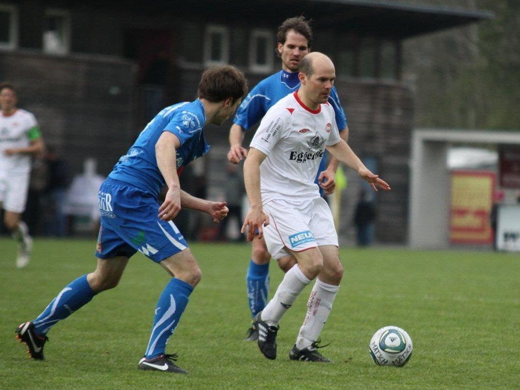 ´Mathias Mayer erzielte für Egg zwei Tore in Rankweil.