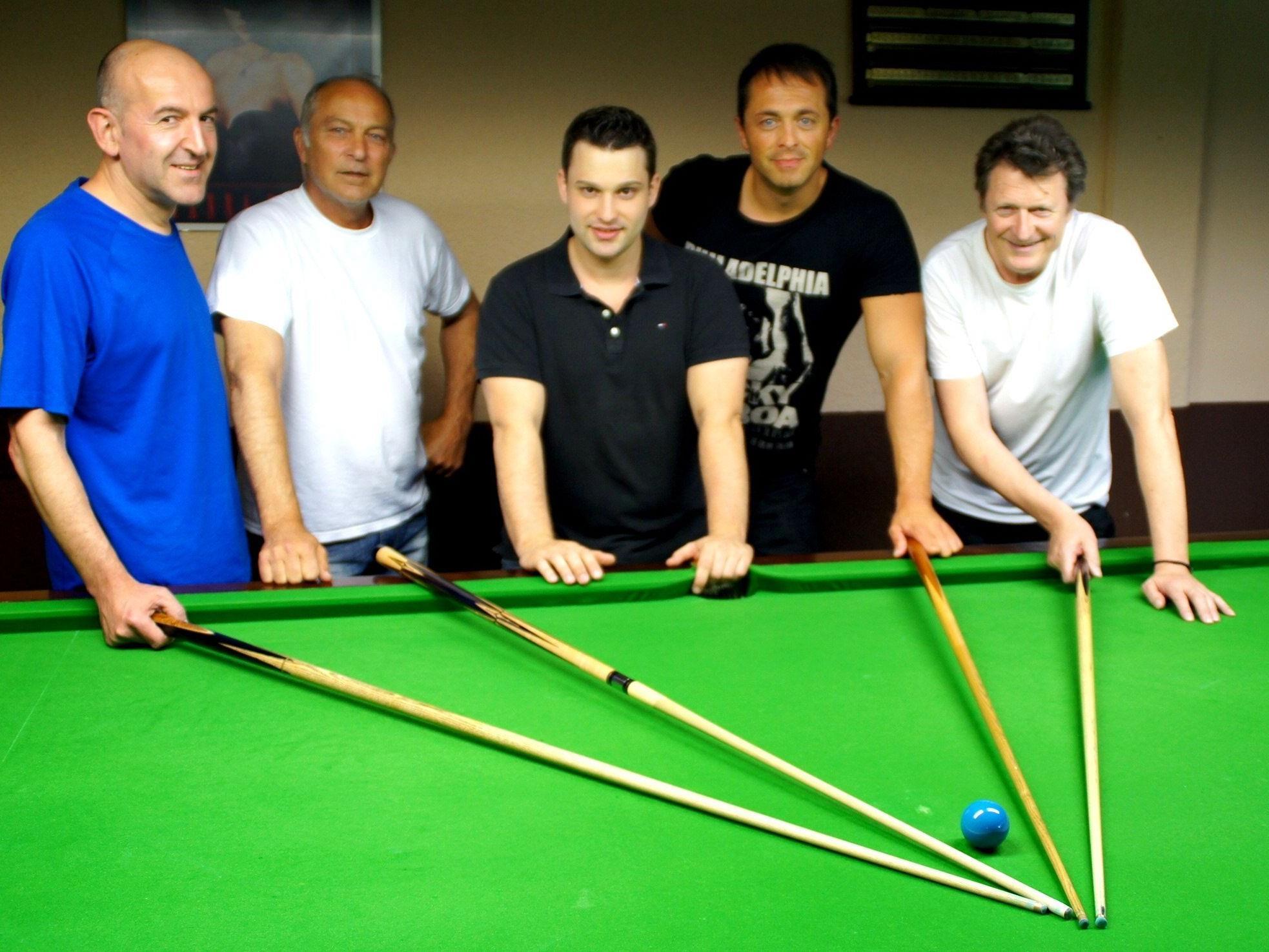 Snookers unter sich