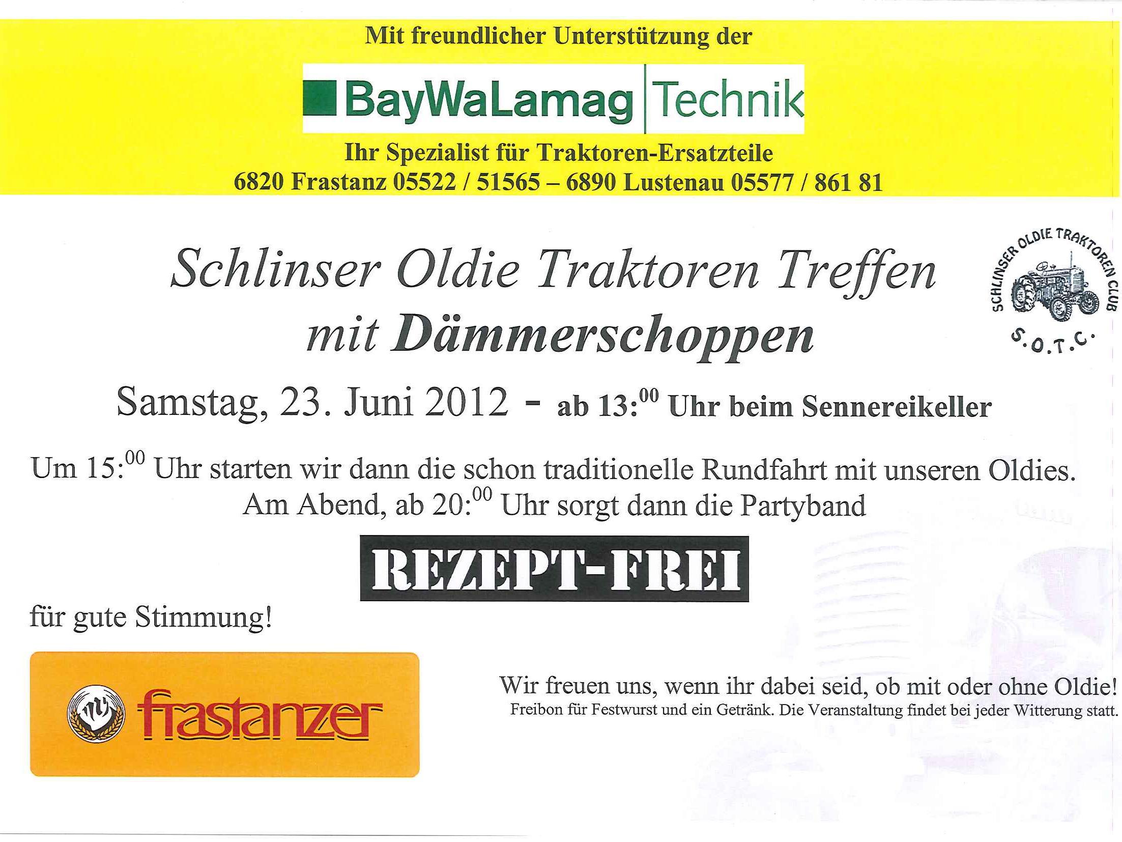 Schlinser Oldie Traktoren Club - Schlins   intertecinc.com