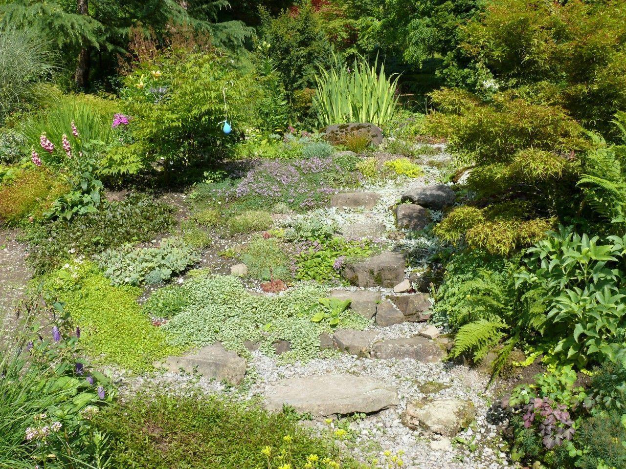 Der wunderschöne Garten der Familie Niederer in Dornbirn lädt ebenfalls zum Tag der offenen Tür.