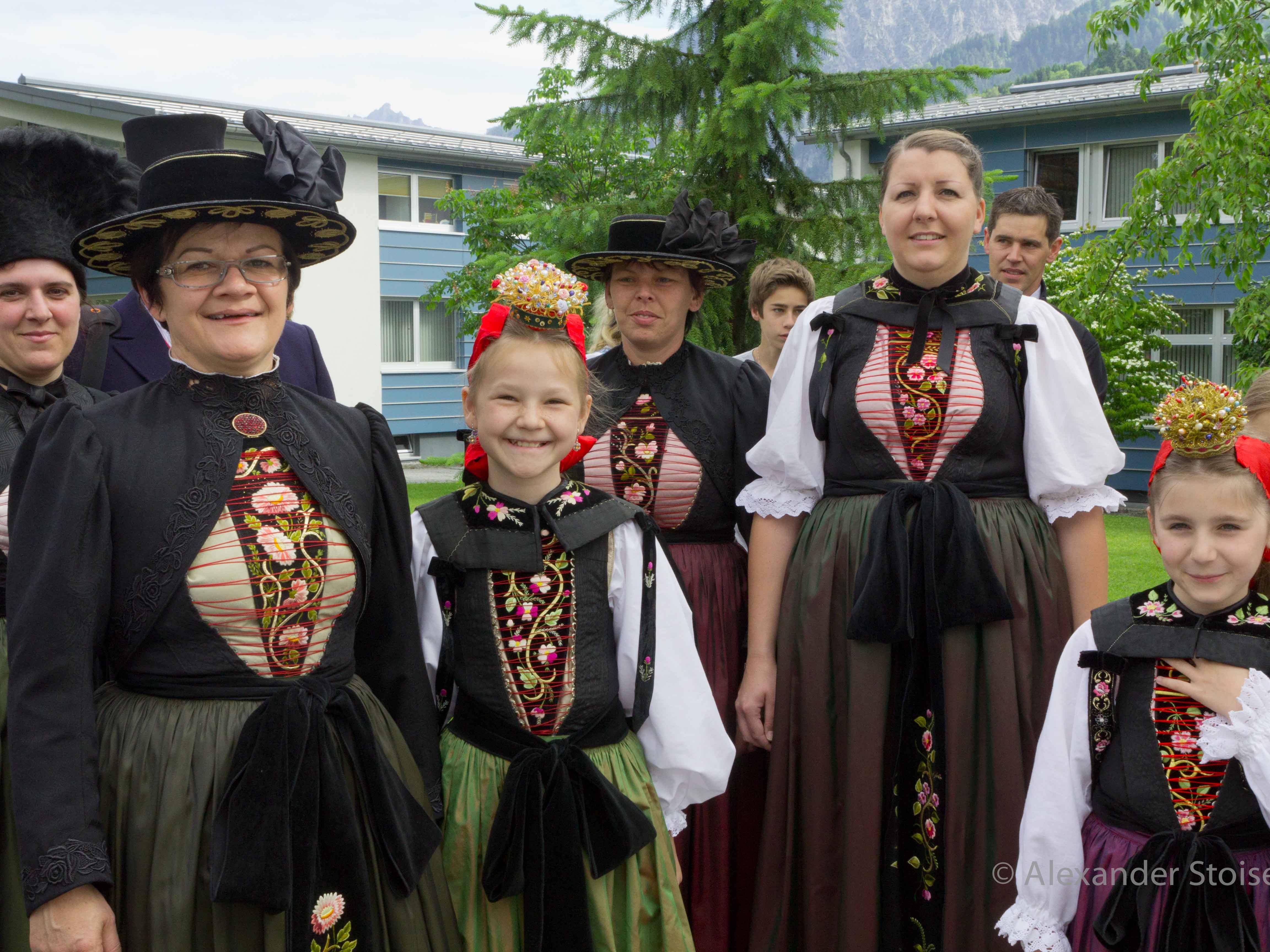 Wird am Vorarlberger Landestrachtentag in Krumbach dabei sein: Die Trachtengruppe Vandans
