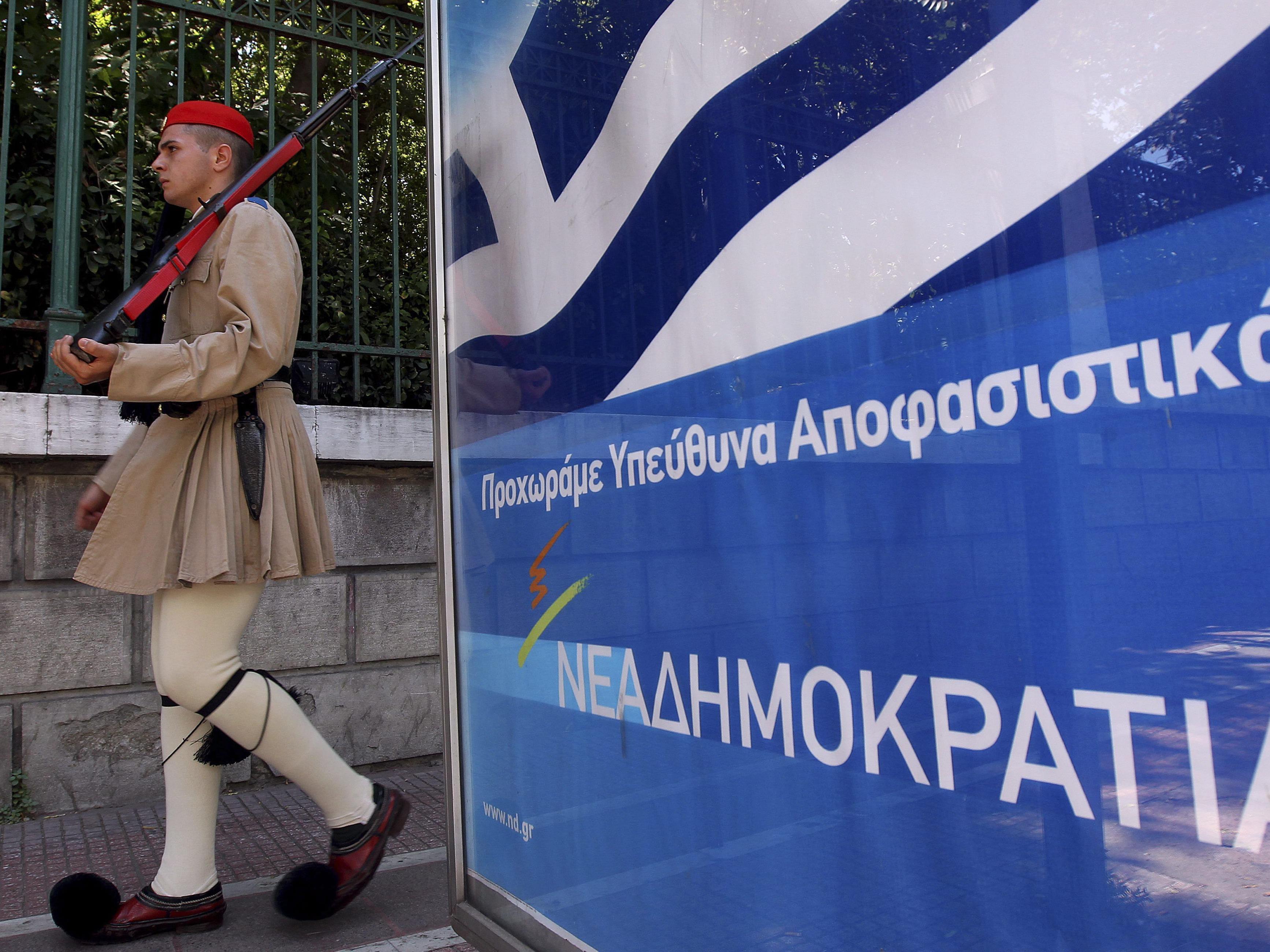 Alles entscheidender Wahlkampf in Griechenland.