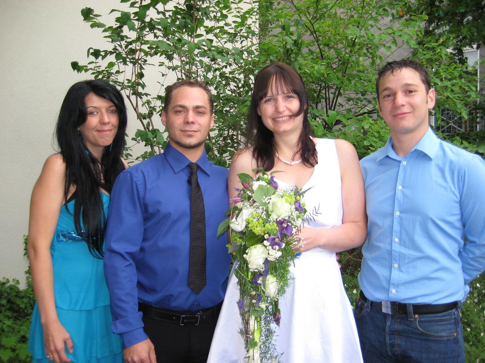 Bettina Grabherr und Marco Linder haben geheiratet.