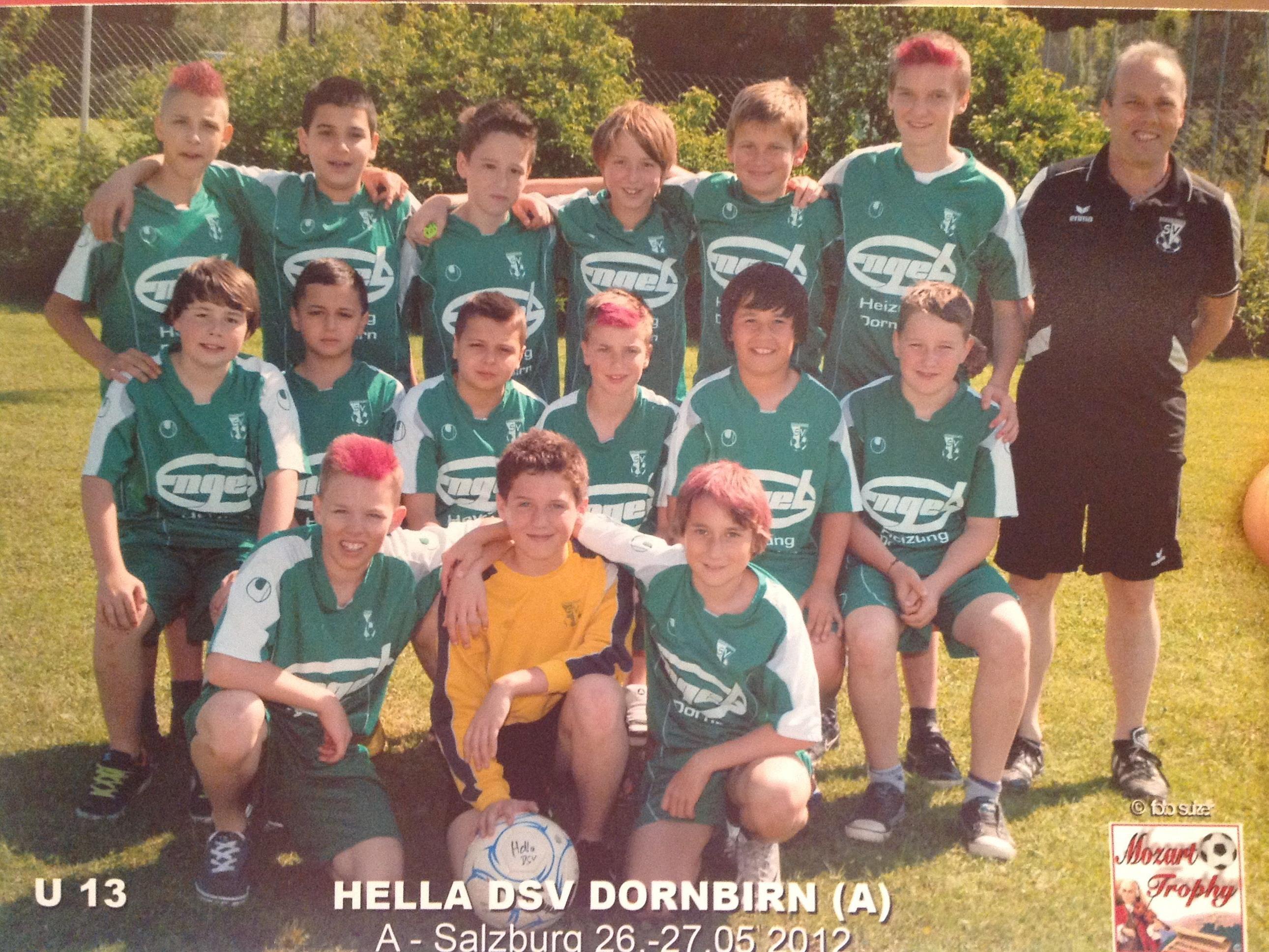 DIe Unter-13-Jährigen der Haselstauder stehen im Halbfinale der Landesmeisterschaft.