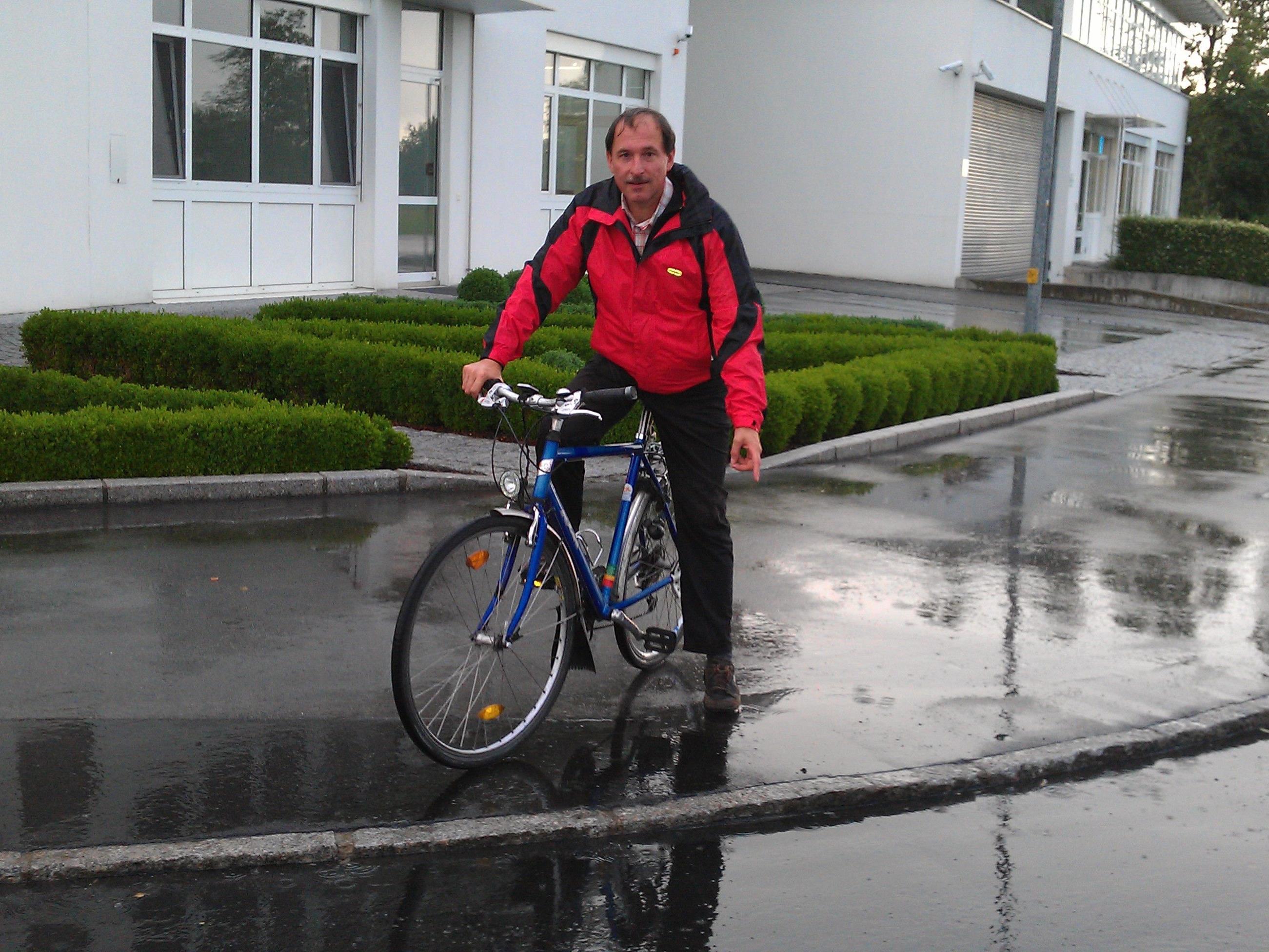 GR Dietmar Haller machte sich vor Ort ein Bild.