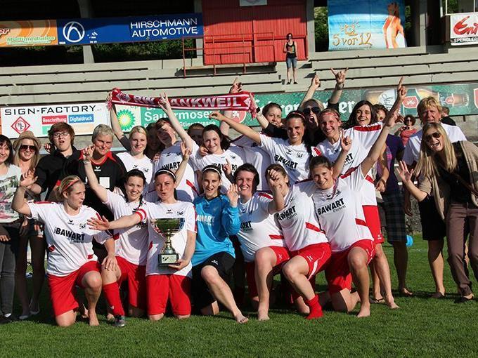Rankweils Damenteam überlegene Meister in der Vorarlberg Liga.