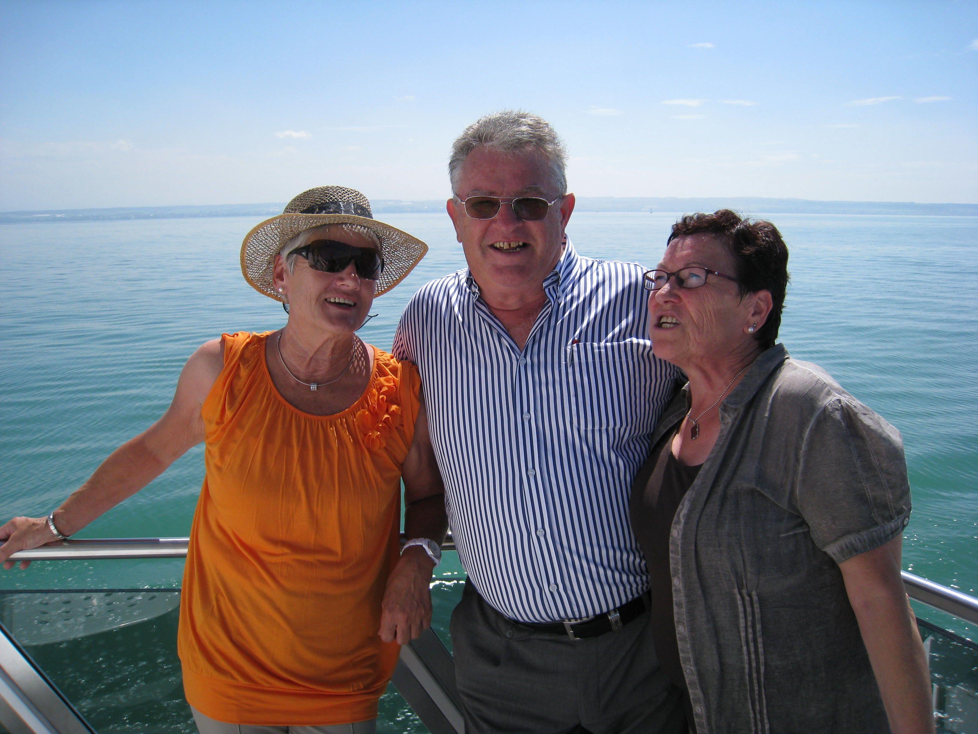 PVÖ-Bodenseeausfahrt: Gute Laune herrscht beim Pensionistenverband Vorarlberg