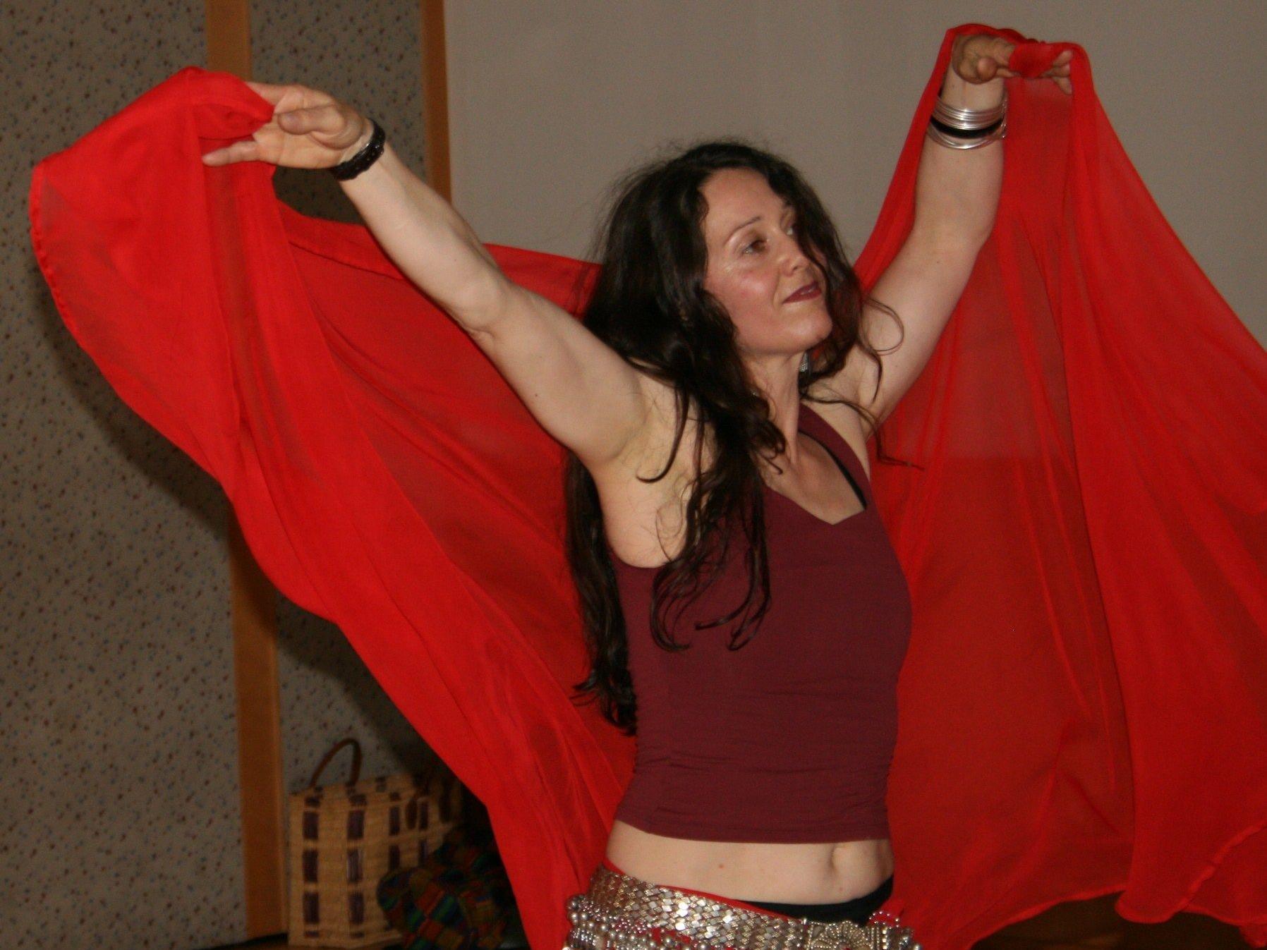 Fireworks-Tänzerin Barbara Theilacker.