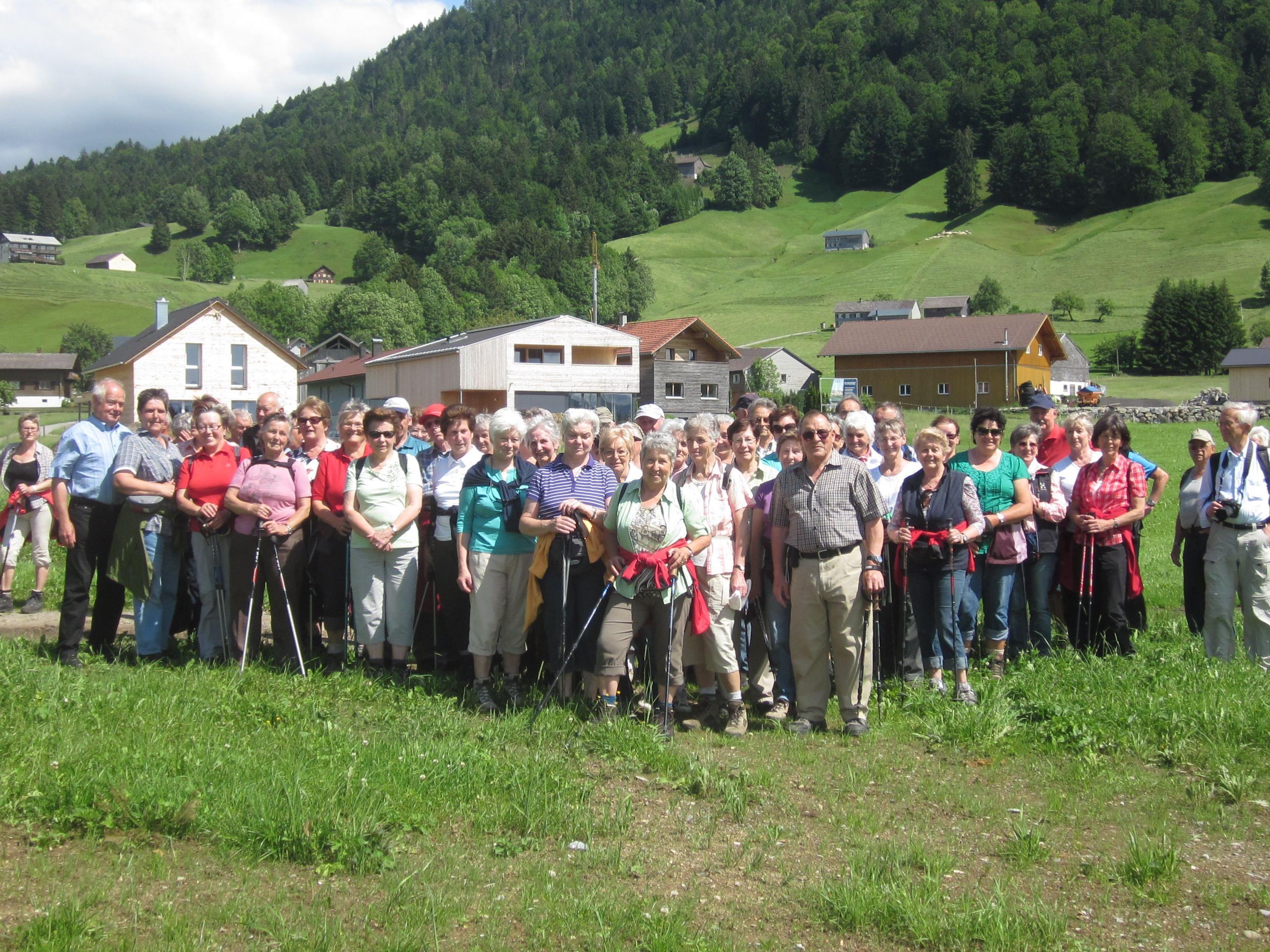 Die Senioren vom Bezirk Bregenzerwald