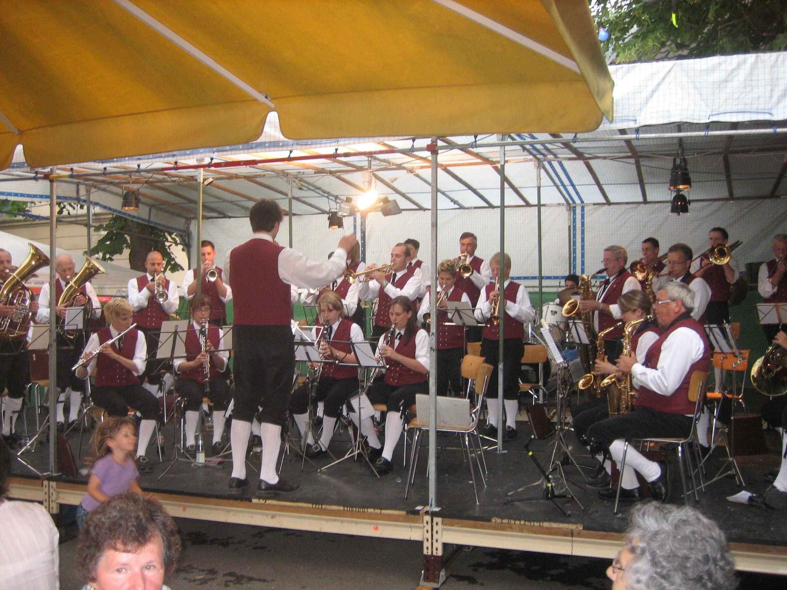 Sommerfest der Bürgermusik Hohenems