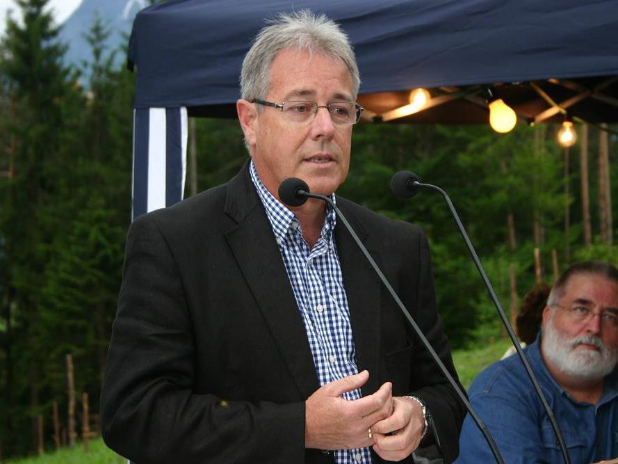 Bürgermeister Helmut Lampert