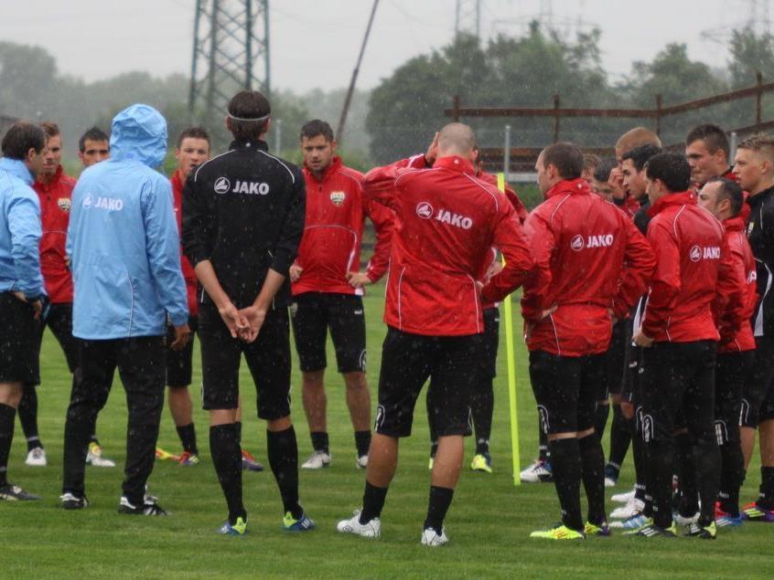 Trainingsauftakt beim SCR Altach mit drei Testspielern und neuem Trainergespann.