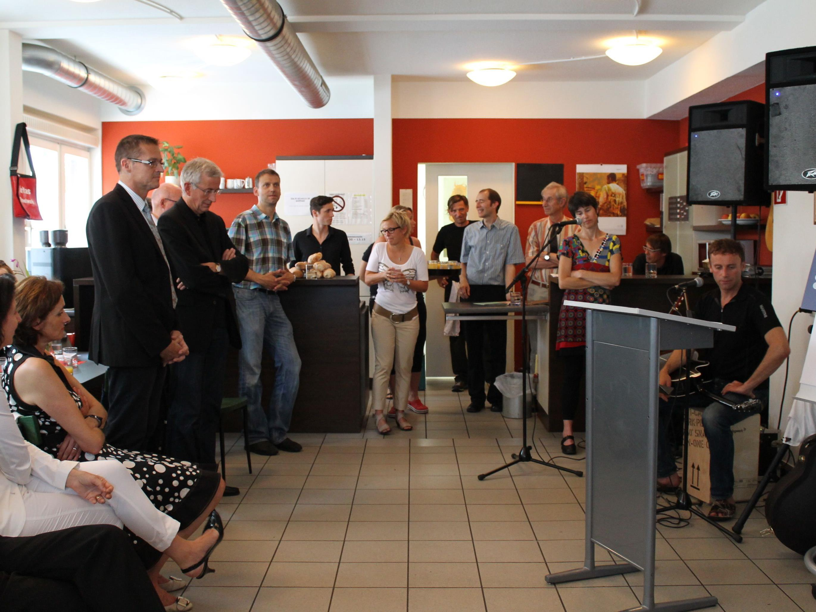 Neueröffnung des Caritas Cafés