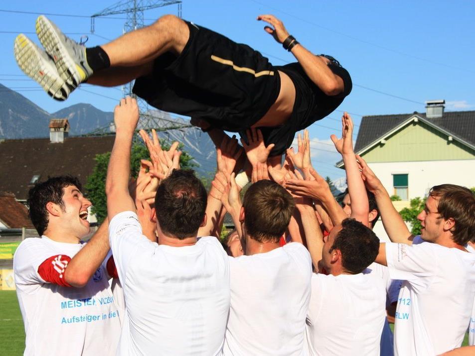 FC Andelsbuch macht den Traum wahr und wird VL-Champion.