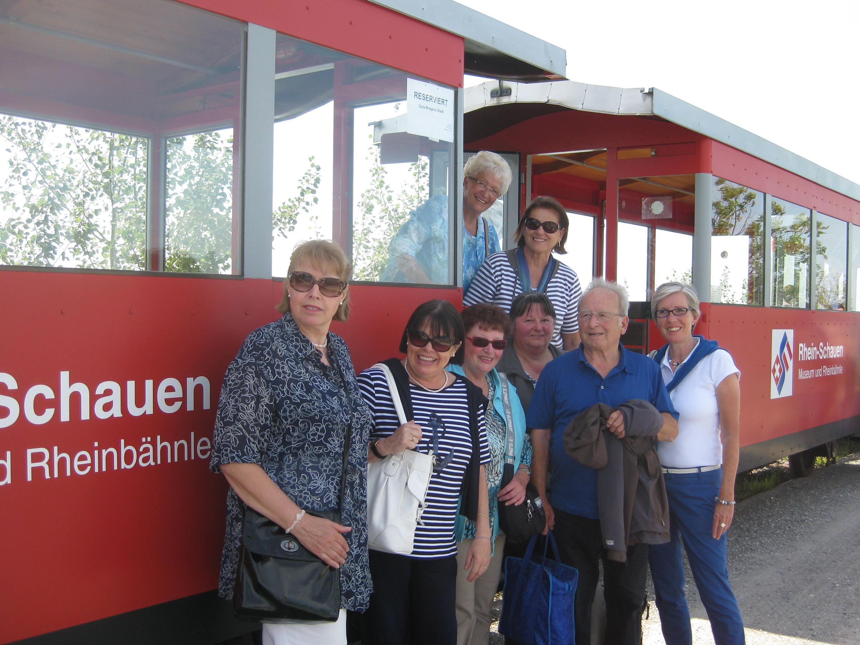 GUTA Runde an der Rheinmündung beim Bähnle