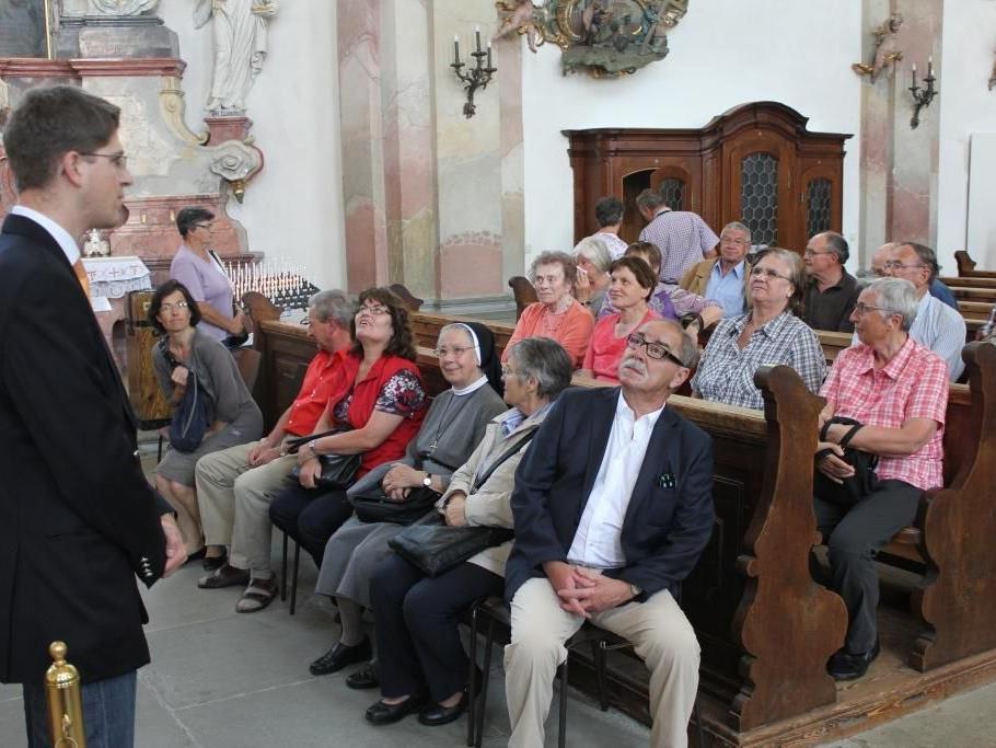 Alle ehrenamtlichen Helfer wurden Ende Mai zu einem Ausflug nach Birnau am Bodensee eingeladen