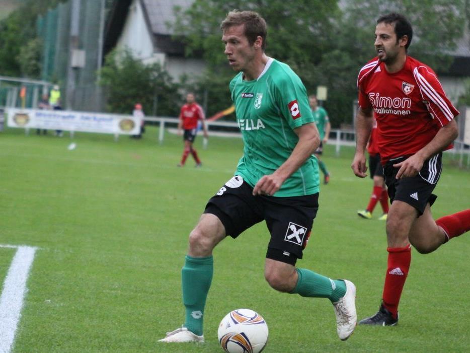 DSV-Doppelpack Philipp Hagspiel zählte zu den Matchwinnern gegen Mäder.