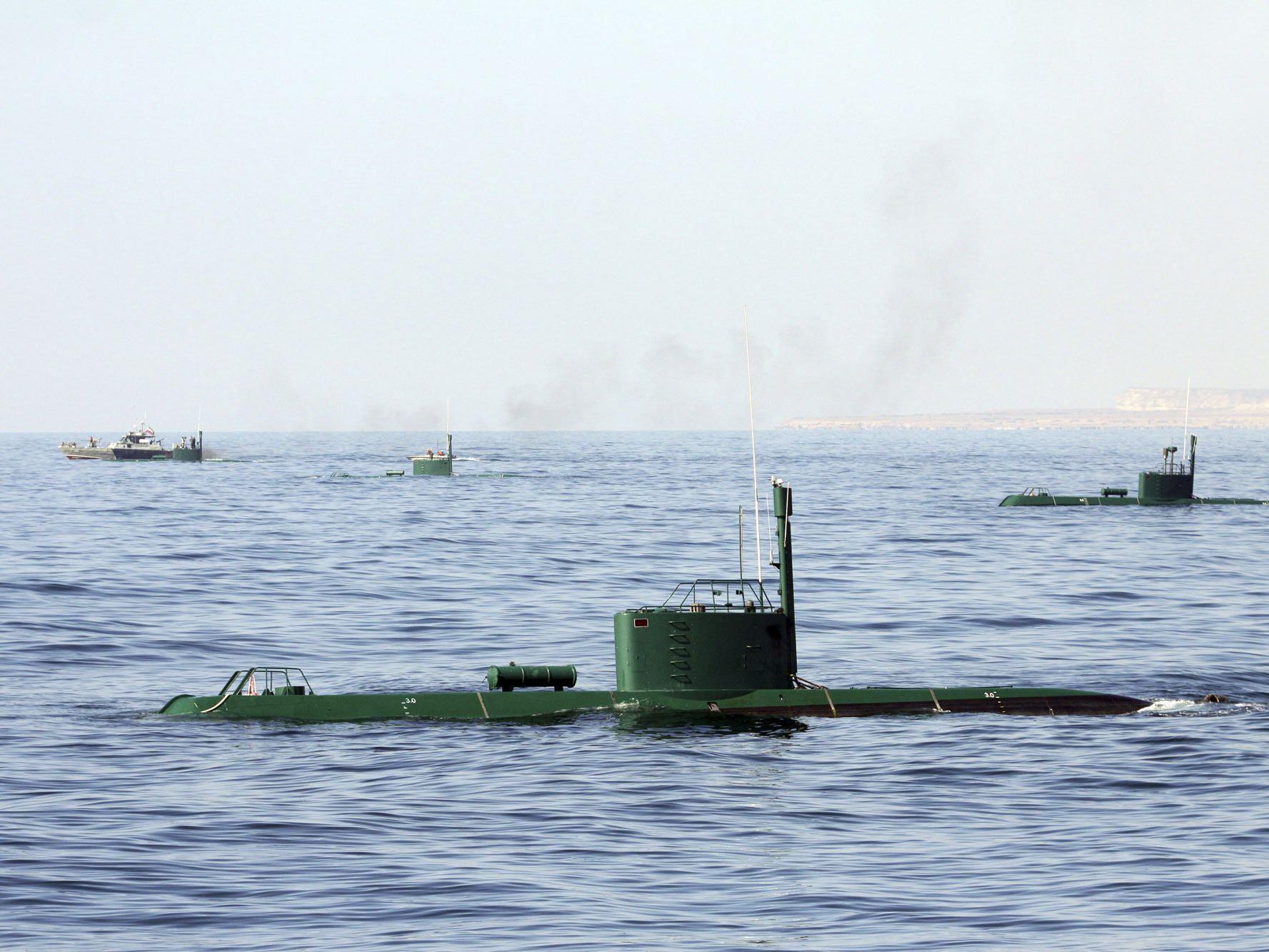 Der Iran ist die erste Macht am Golf mit einer eigenen Uboot-Flotte.