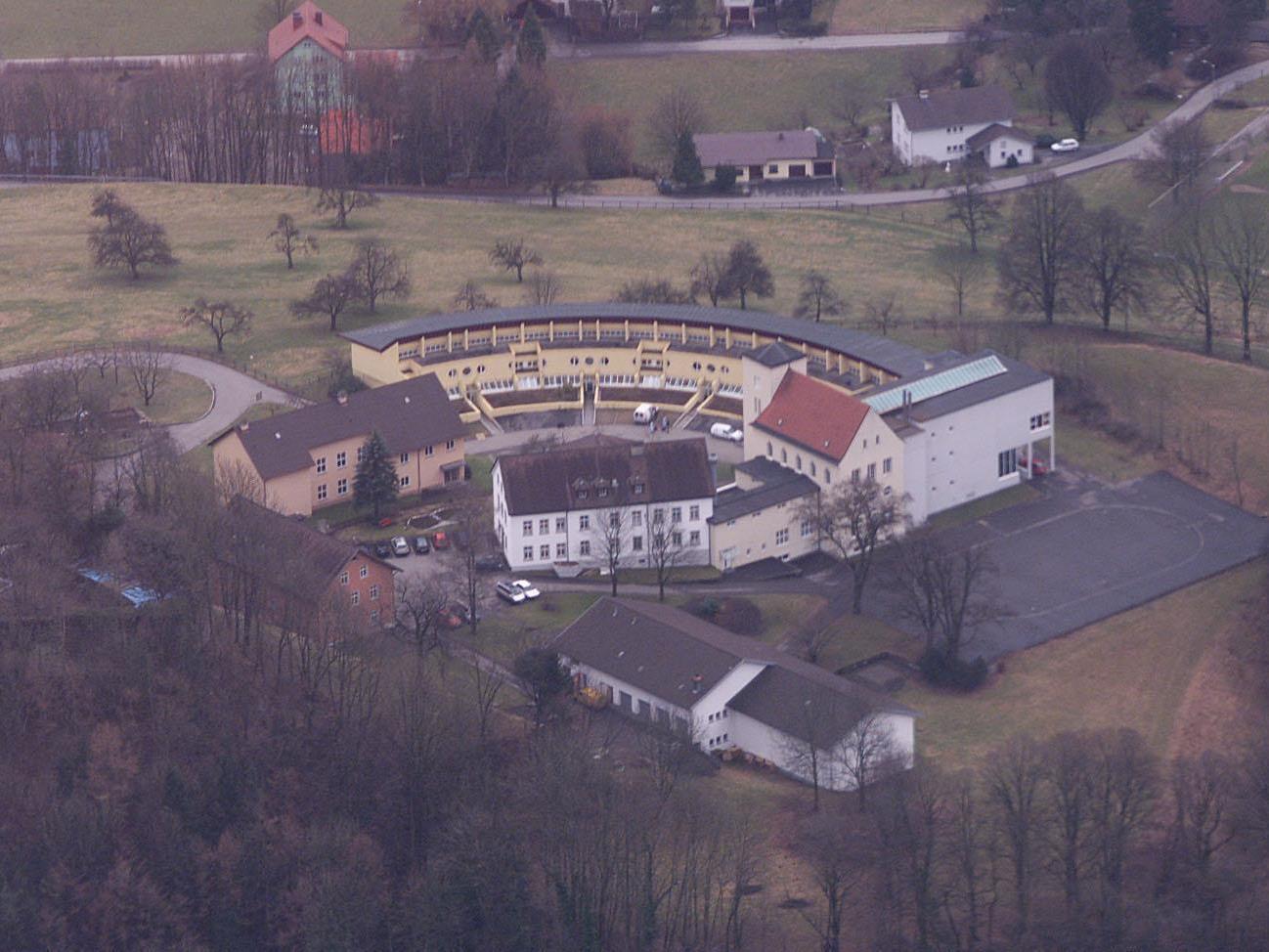 Die meisten Vorarlberger Opfer waren im alten Jagdberg interniert.