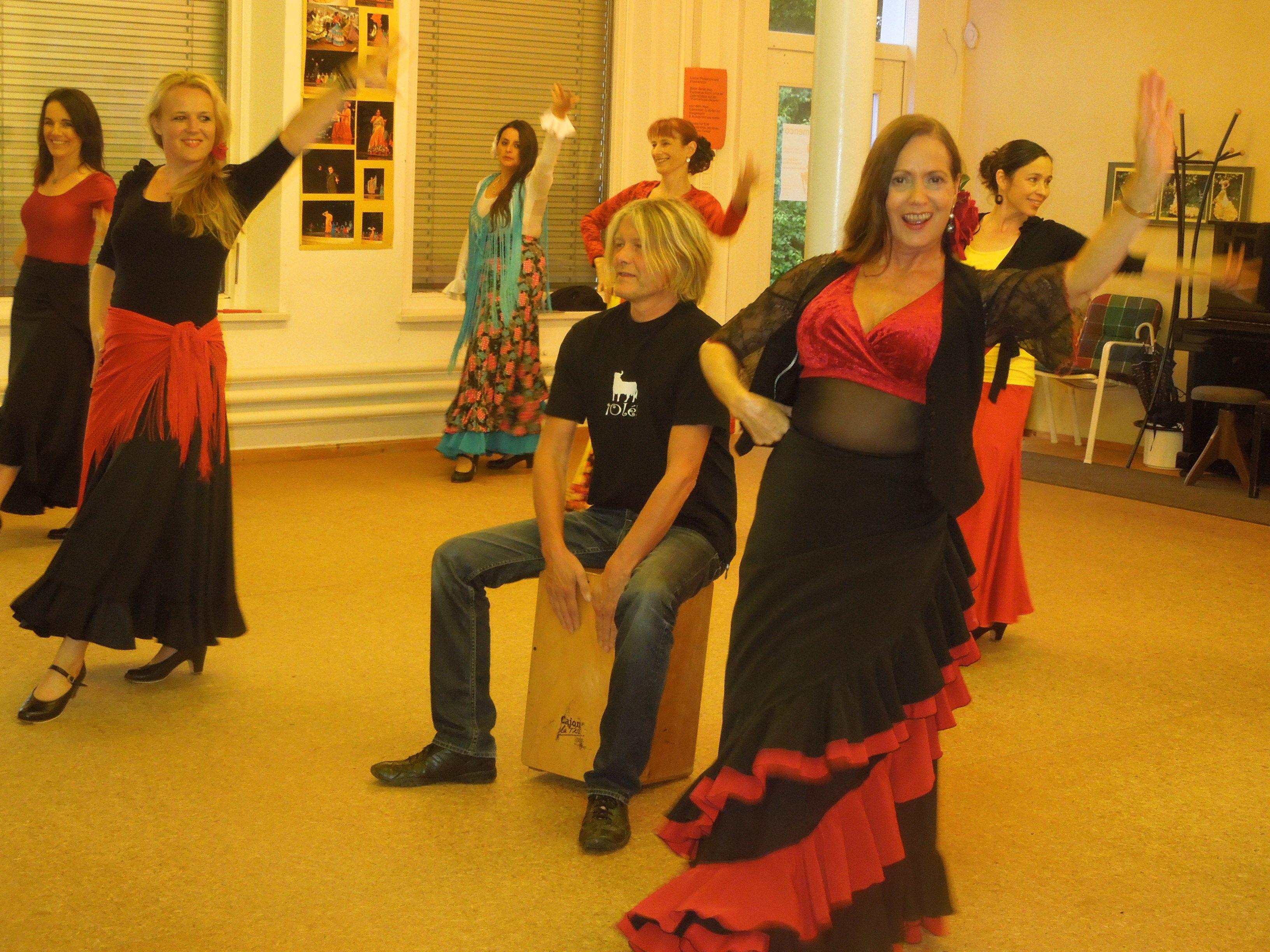 Teresa de Madrid und ihre Freunde leben für und mit dem Flamenco.