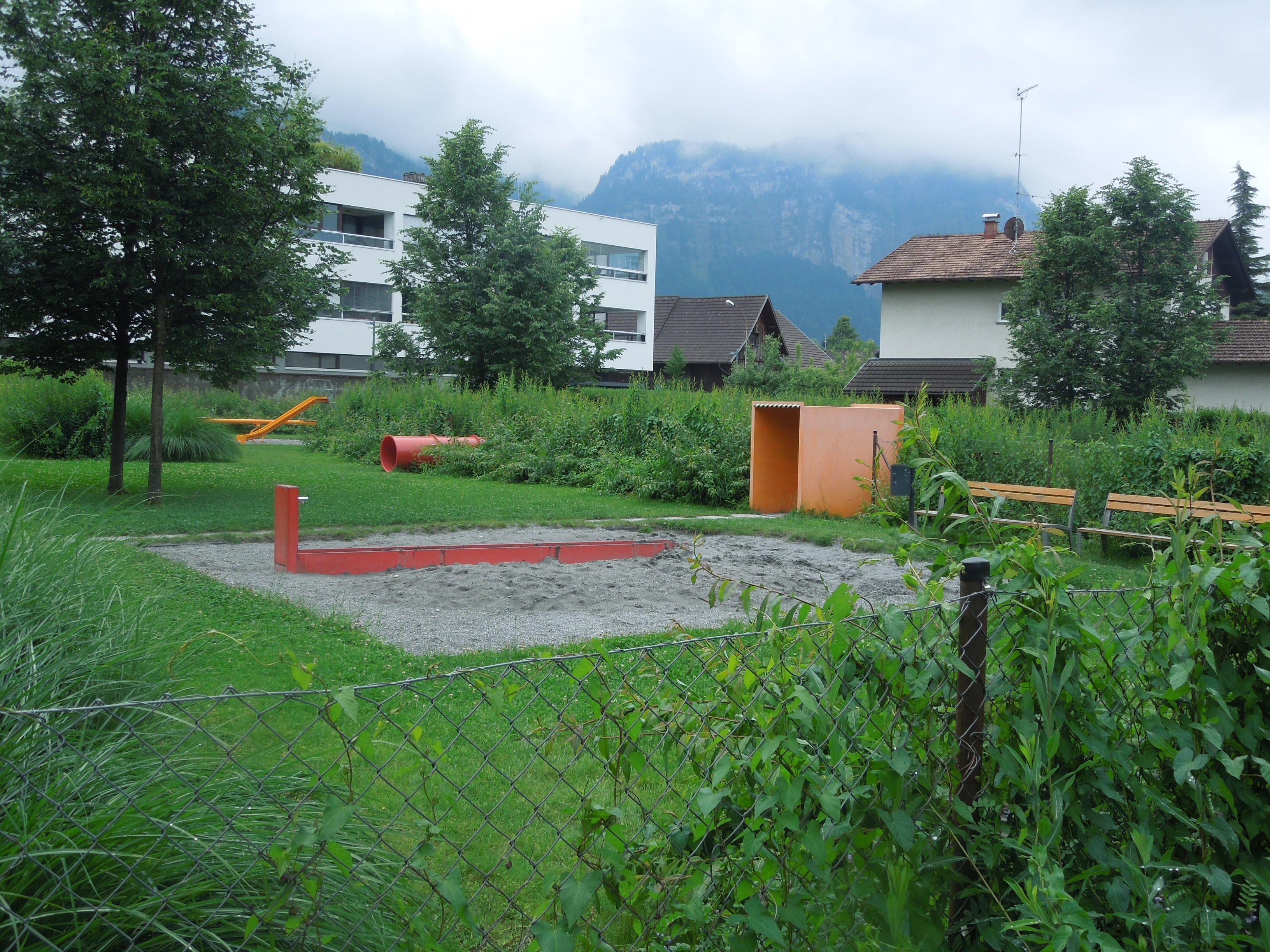 Die Stadt Dornbirn prüft derzeit wie eine Beschattung beim Inatura Spielplatz aussehen könnte.