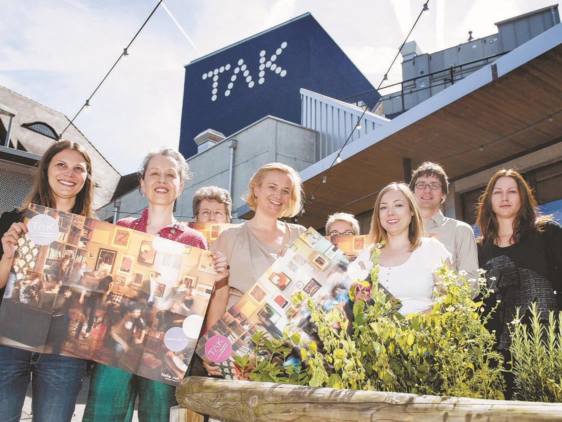 TAK-Intendantin Barbara Ellenberger (2. v. l.) und ihr Team präsentierten das neue TAK-Programm.