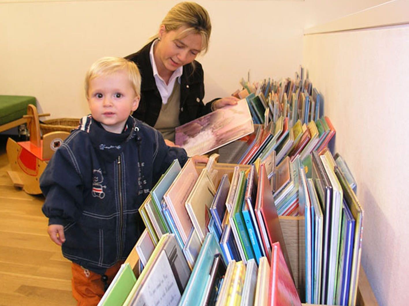 Die Bücherei Hohenems will schon bei Vorschulkindern Lust aufs Vorlesen wecken.