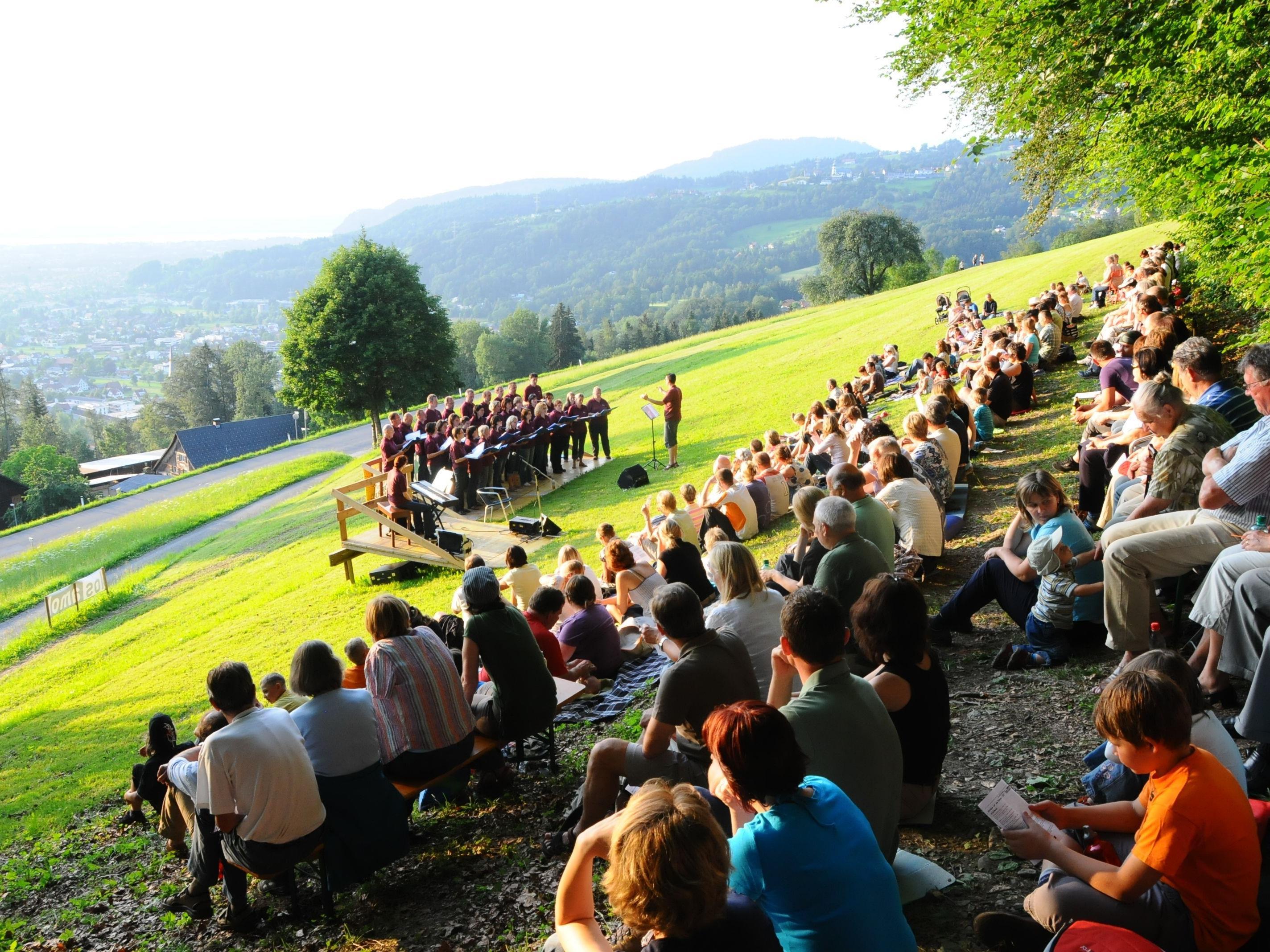 """Auf einen geselligen Sommerabend freut sich der Chor """"Los amol"""""""
